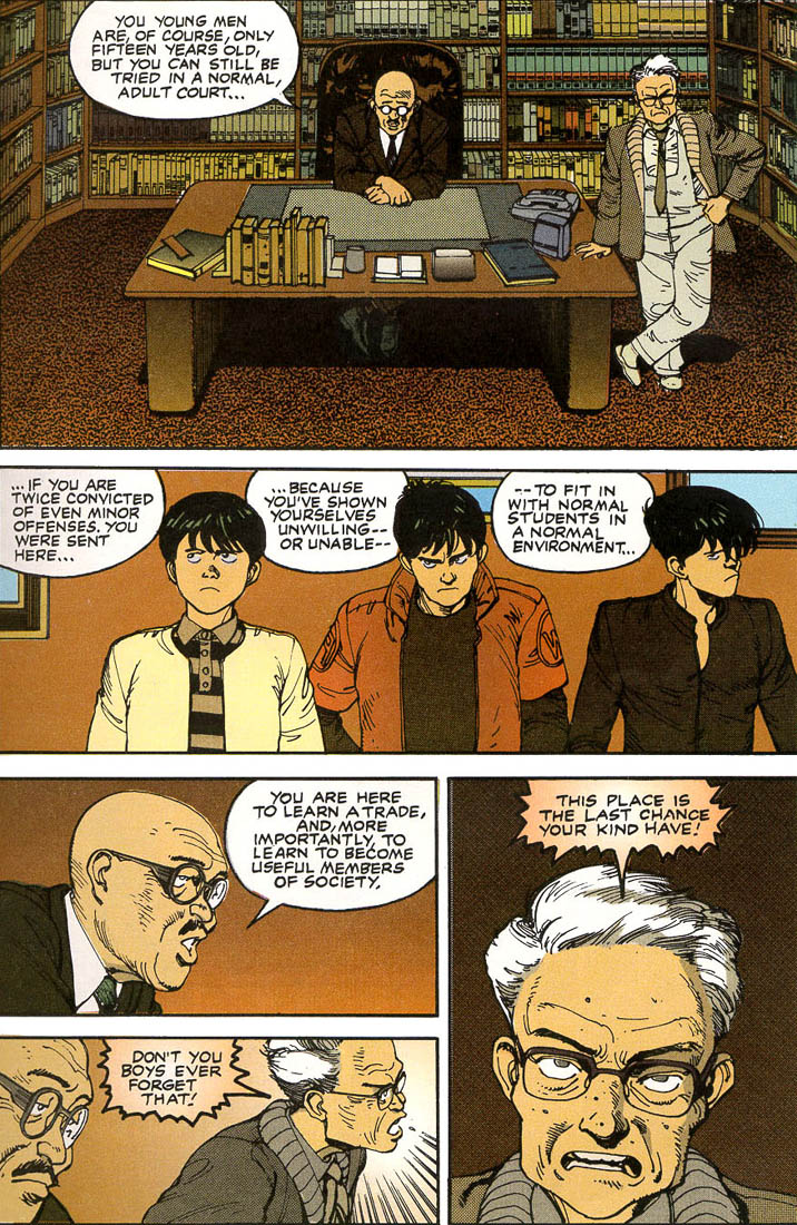 Read online Akira comic -  Issue #1 - 27
