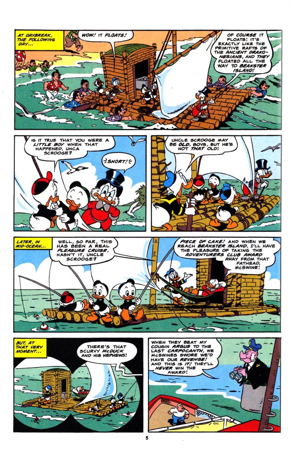 Read online Uncle Scrooge (1953) comic -  Issue #244 - 7