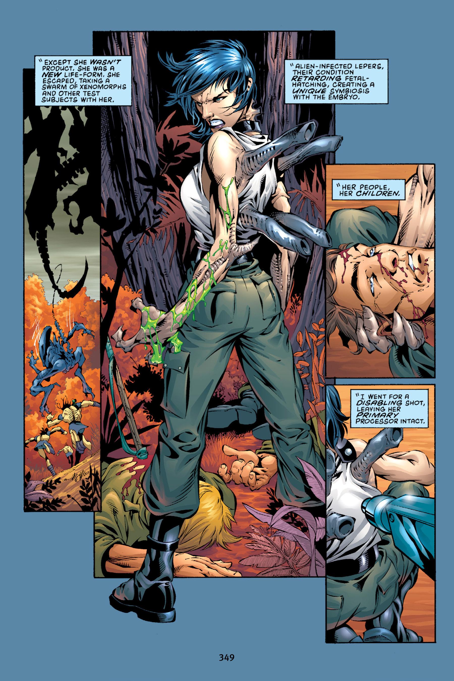 Read online Aliens vs. Predator Omnibus comic -  Issue # _TPB 2 Part 4 - 14