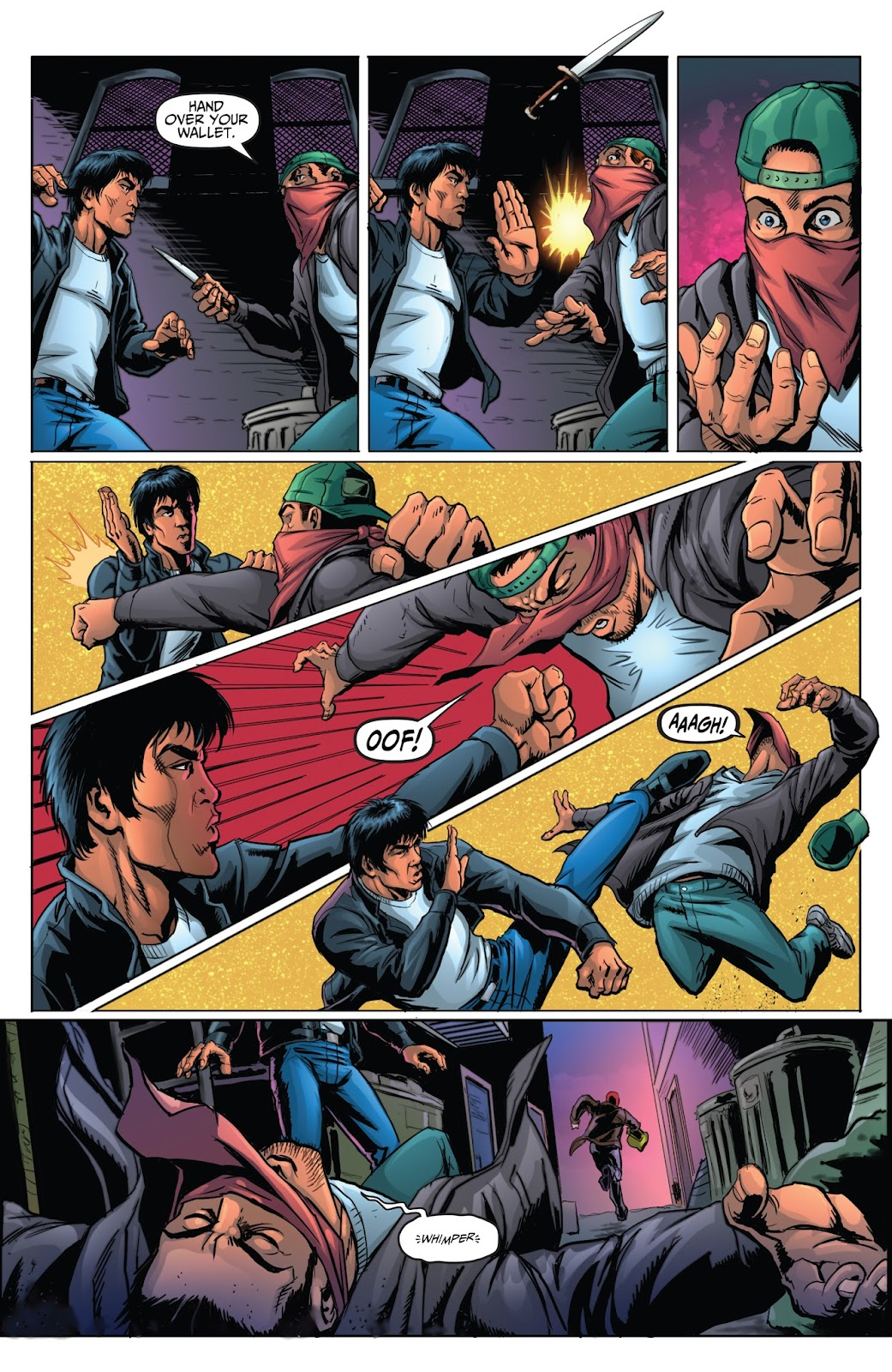 Bruce Lee: Walk of the Dragon issue Full - Page 9