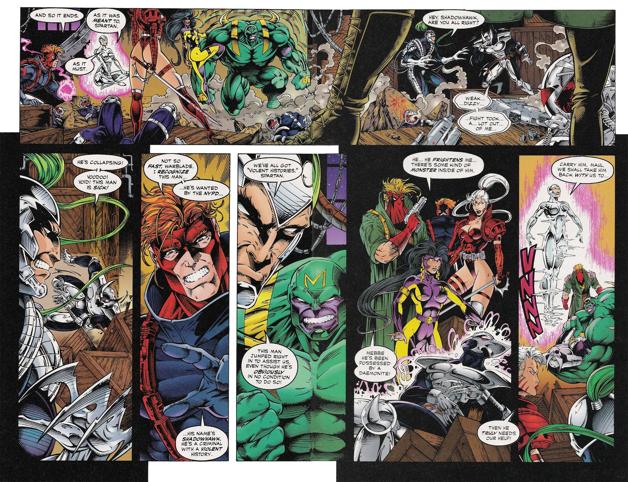 Read online ShadowHawk comic -  Issue #13 - 10