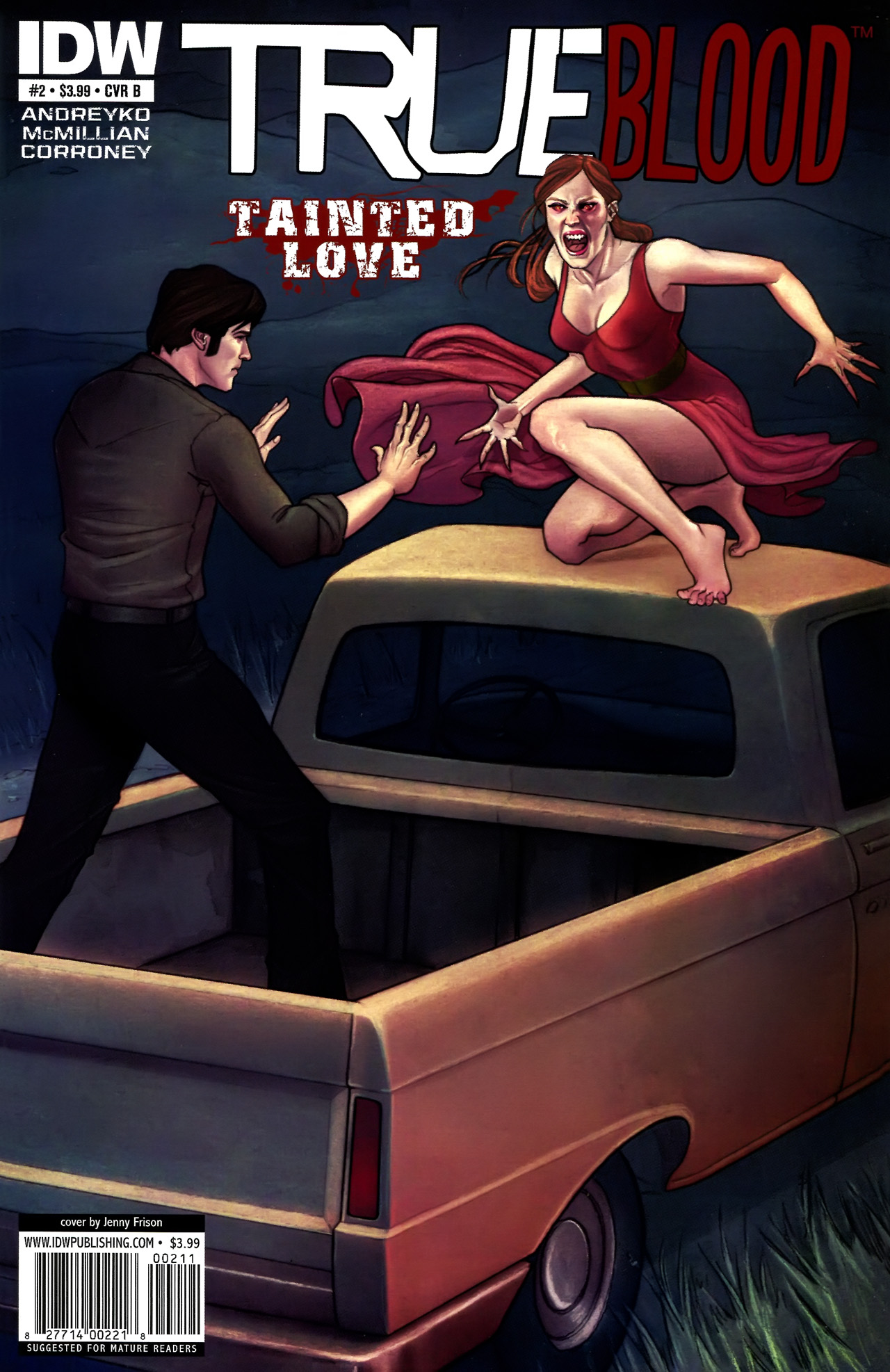 Read online True Blood: Tainted Love comic -  Issue #2 - 2