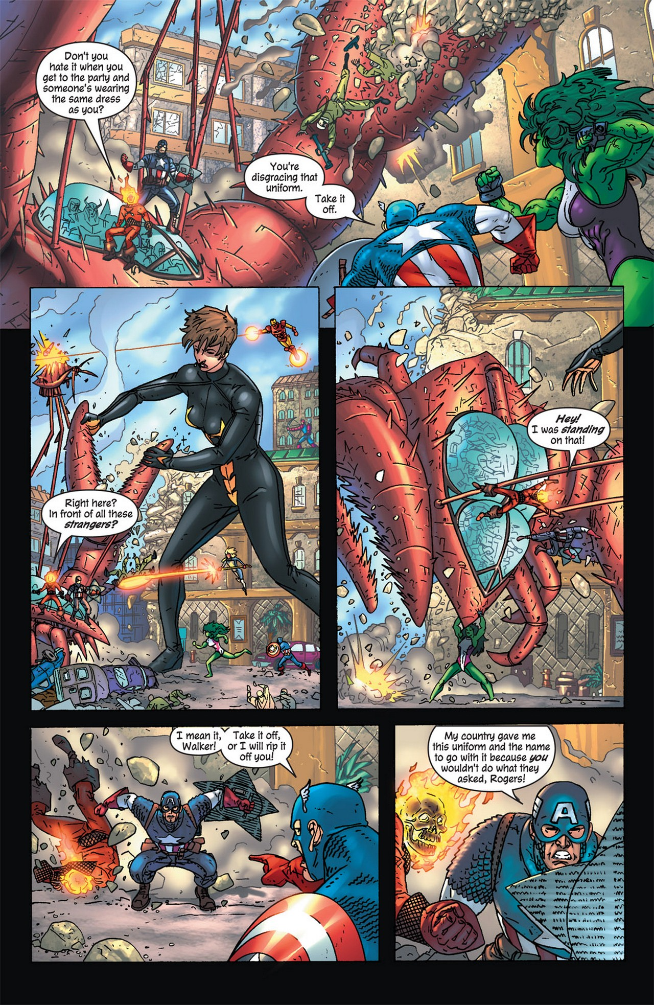Read online Avengers (1998) comic -  Issue #84 - 15