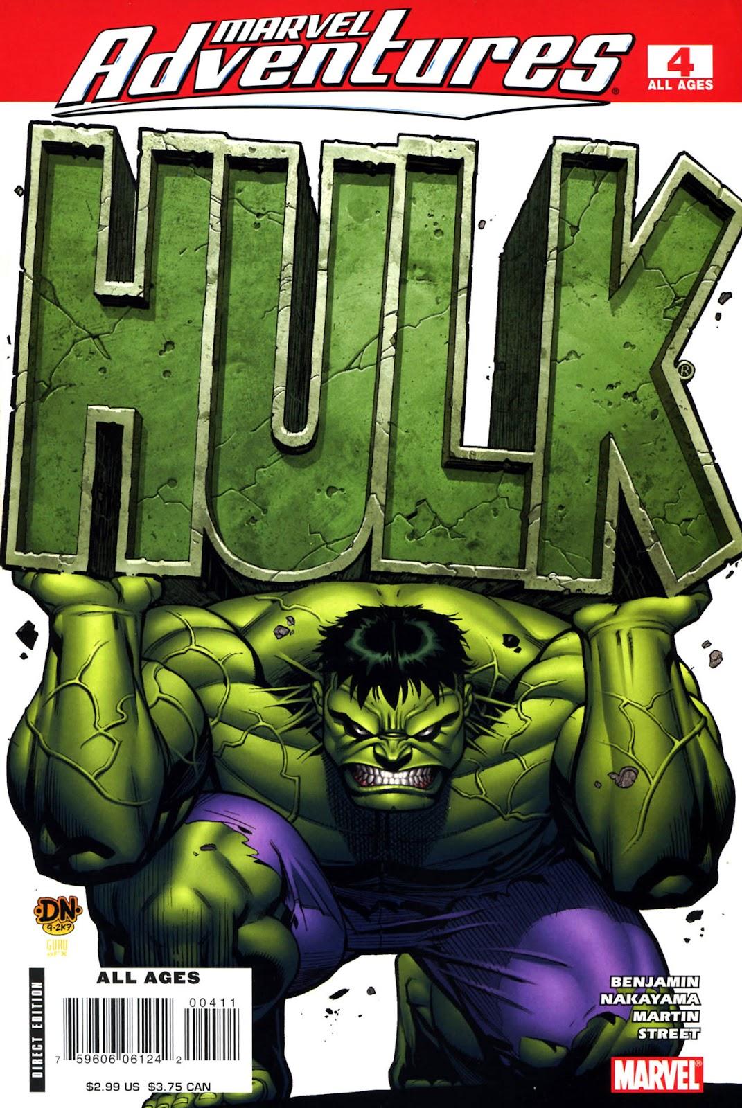 Marvel Adventures Hulk issue 4 - Page 1