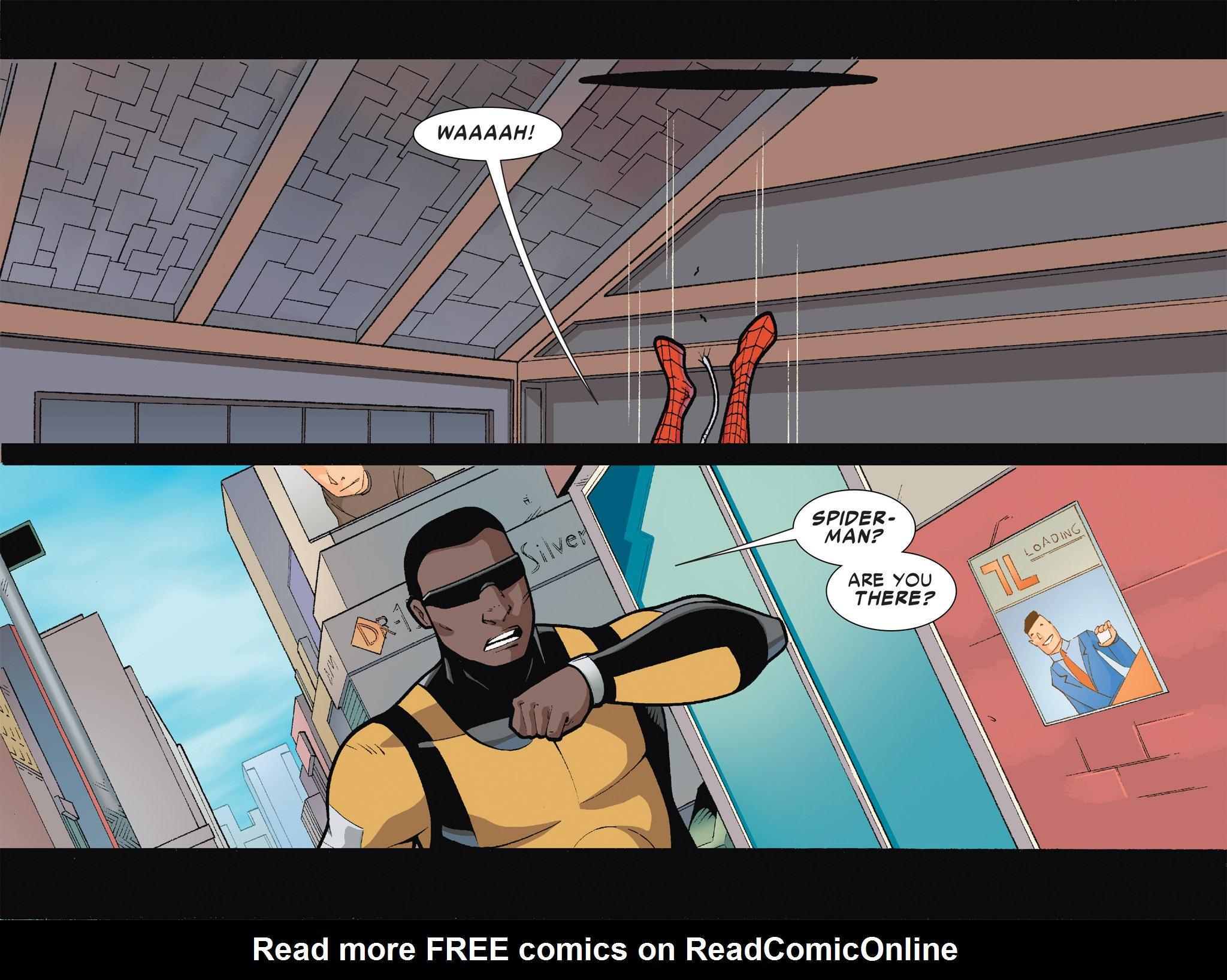 Read online Ultimate Spider-Man (Infinite Comics) (2016) comic -  Issue #6 - 7