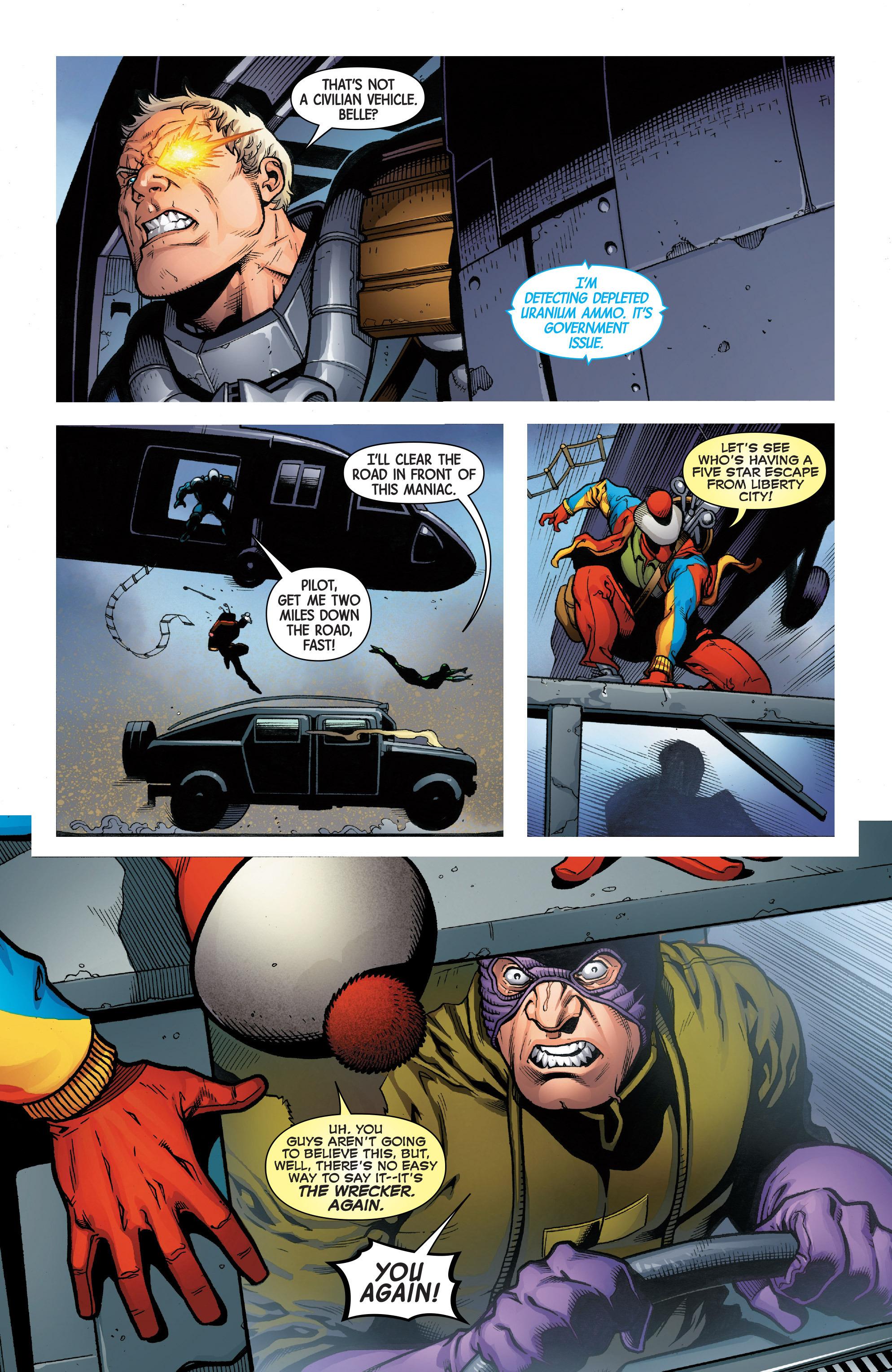 Read online Uncanny Avengers [II] comic -  Issue #7 - 9