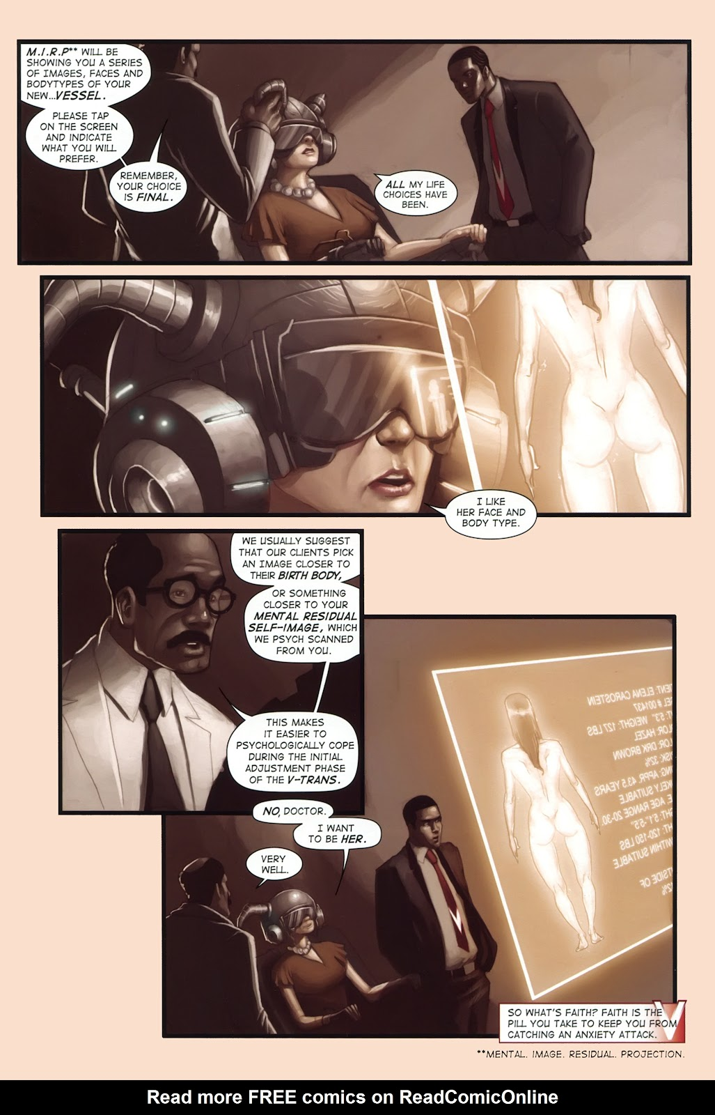 Read online Vescell comic -  Issue #1 - 5