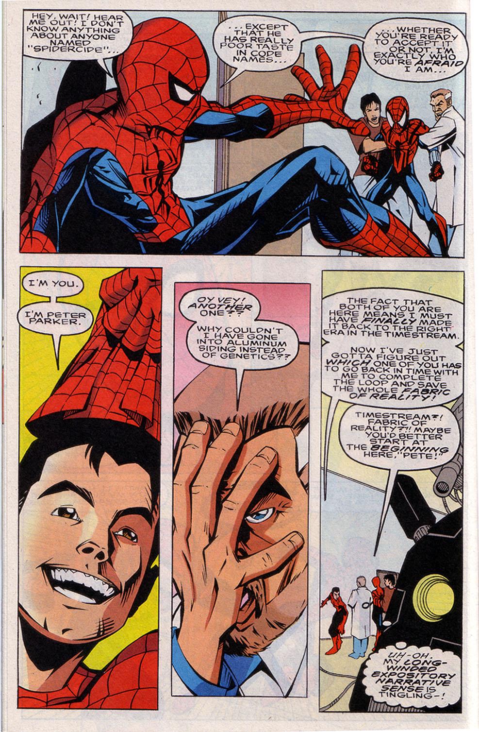 Read online 101 Ways to End the Clone Saga comic -  Issue #101 Ways to End the Clone Saga Full - 12