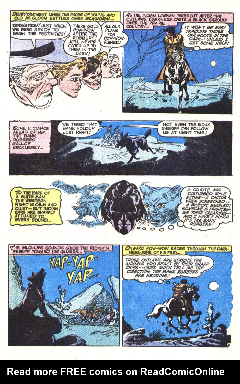 Read online All-Star Western (1970) comic -  Issue #8 - 34