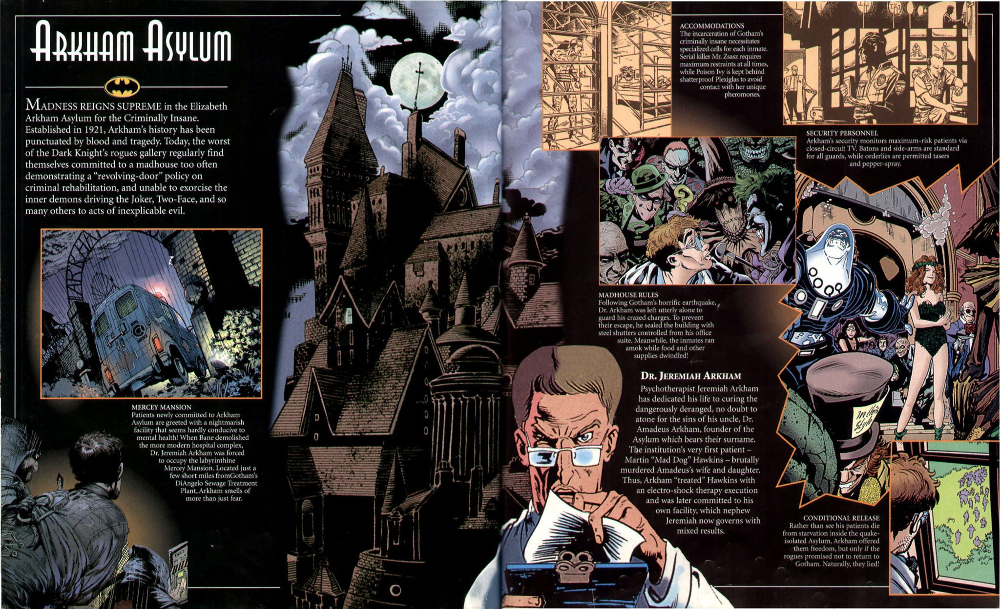 Batman The Ultimate Guide To The Dark Knight TPB   Viewcomic reading