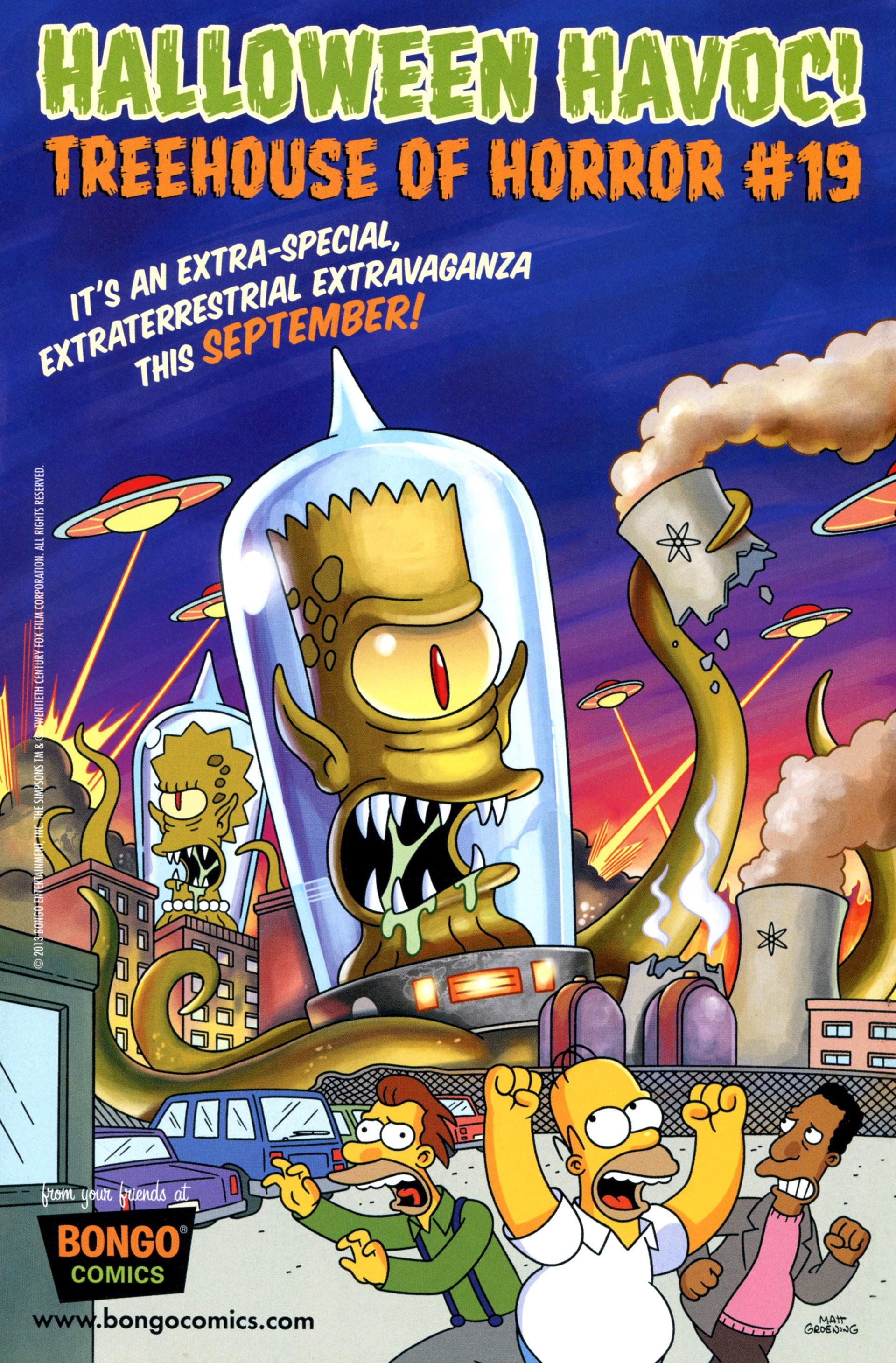 Read online Simpsons Comics comic -  Issue #205 - 32