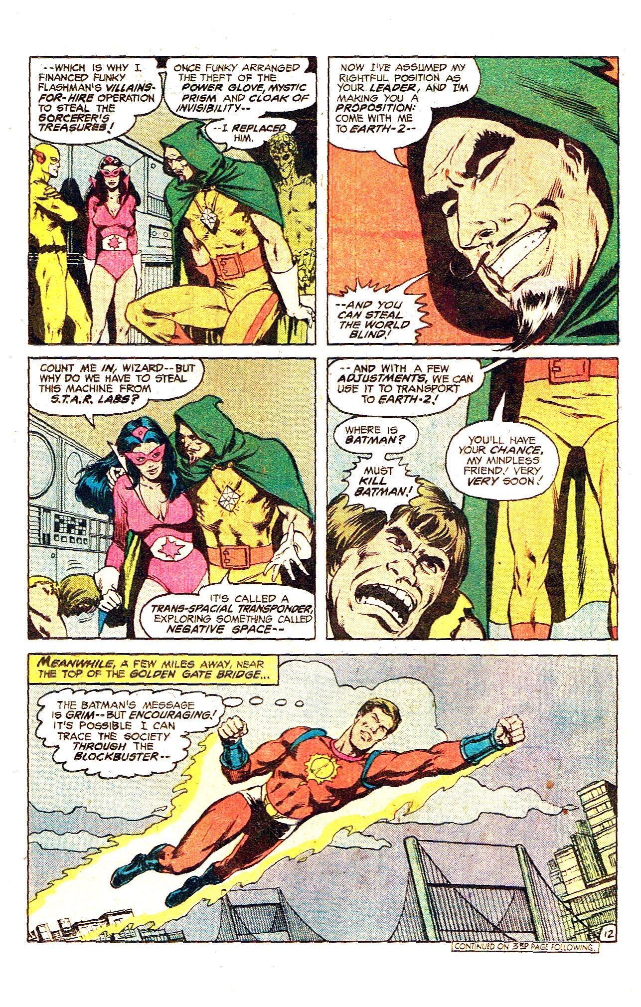 Read online Secret Society of Super-Villains comic -  Issue #12 - 22