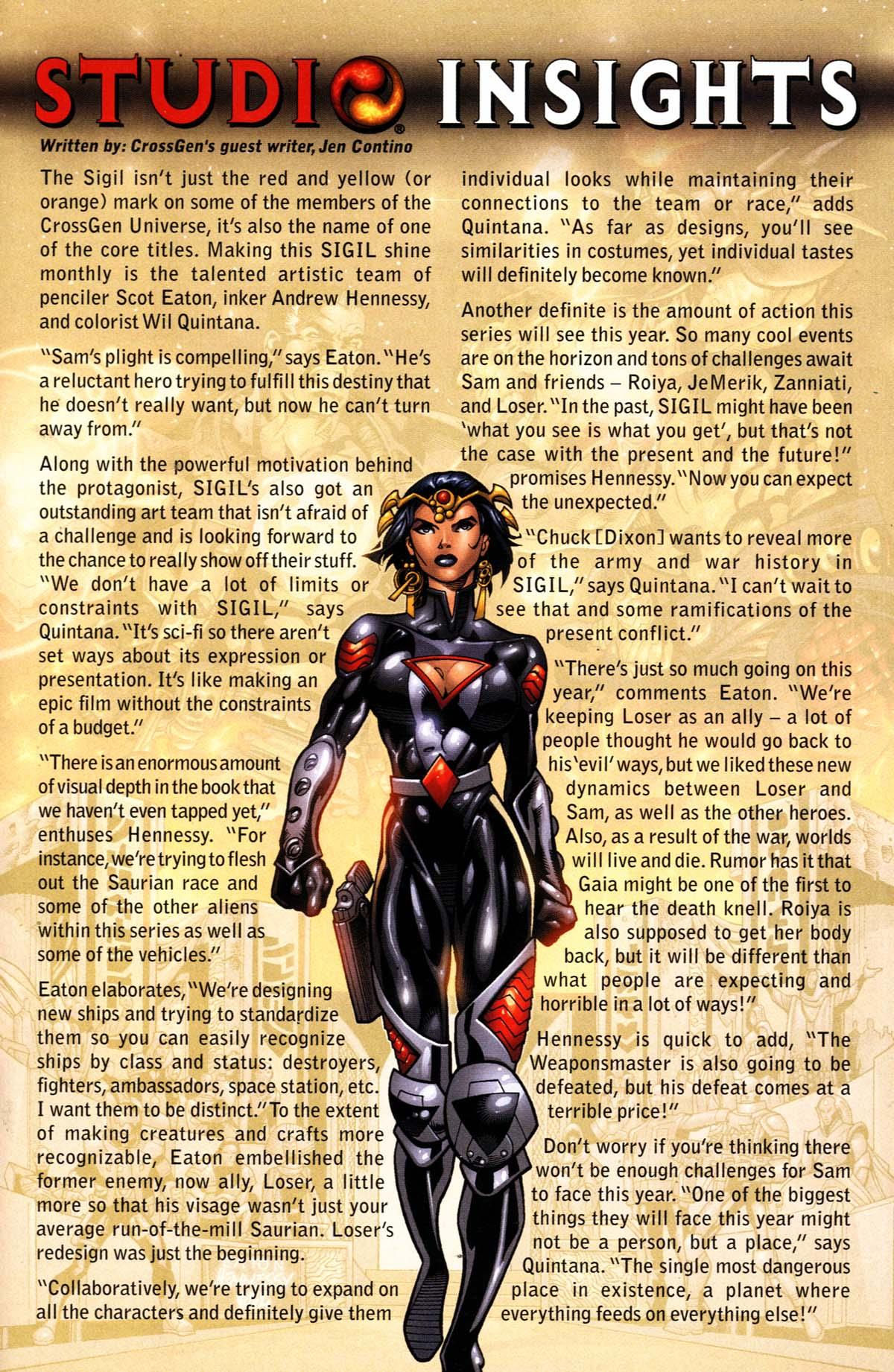Read online Sigil (2000) comic -  Issue #23 - 39
