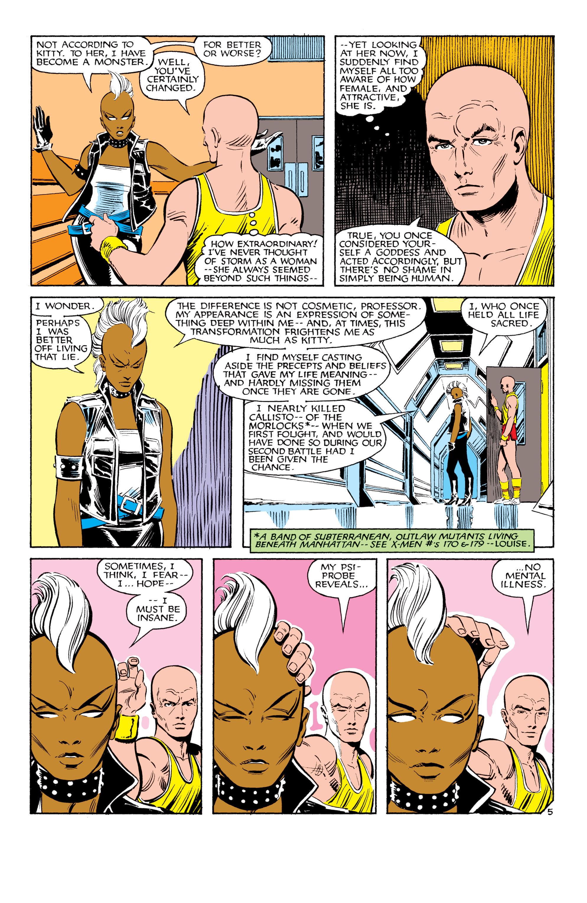 Read online Uncanny X-Men (1963) comic -  Issue #180 - 6