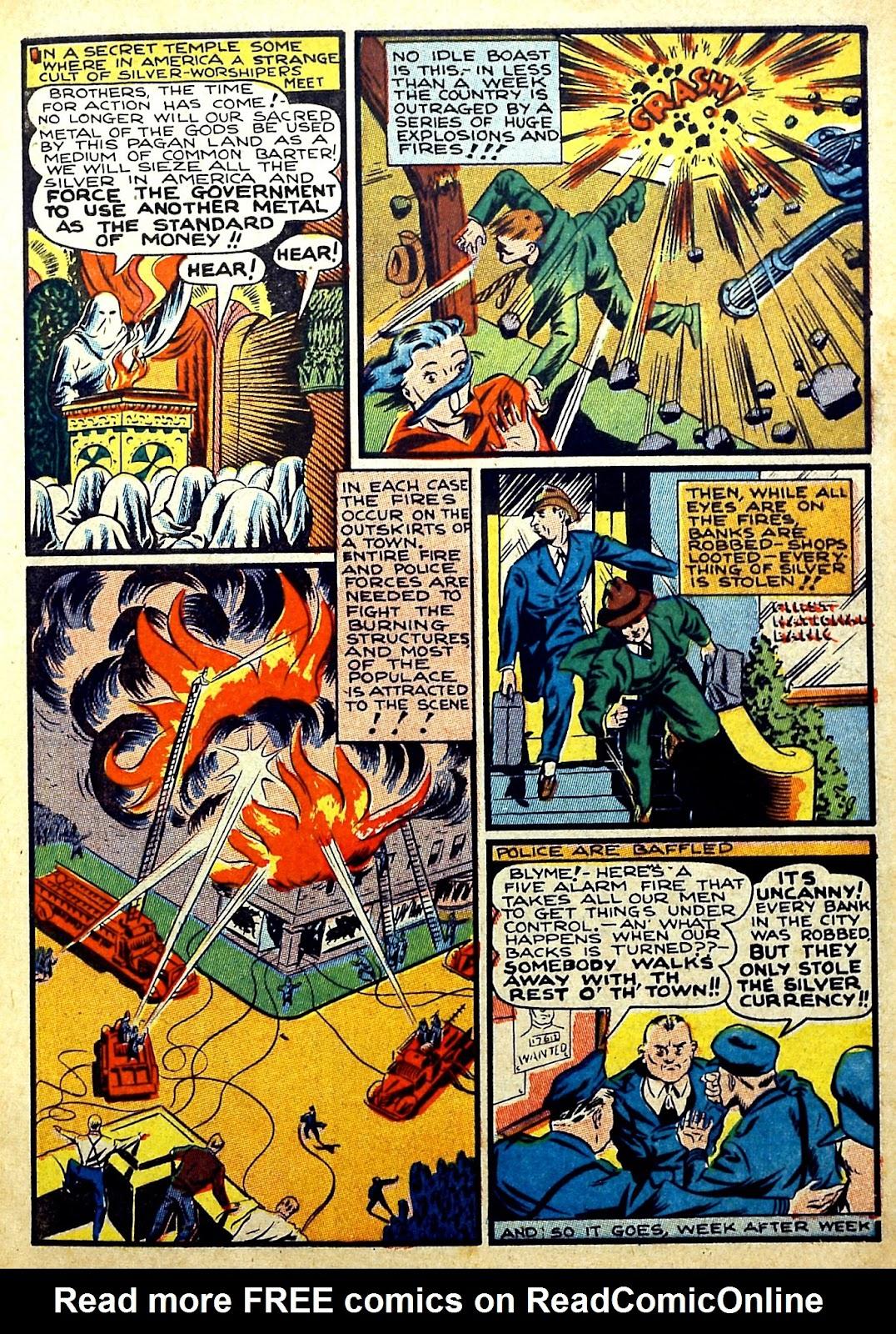 Read online Silver Streak Comics comic -  Issue #22 - 15
