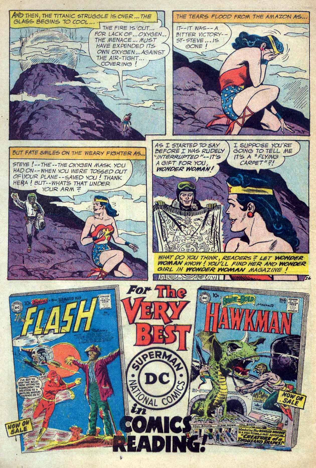 Read online Wonder Woman (1942) comic -  Issue #120 - 32