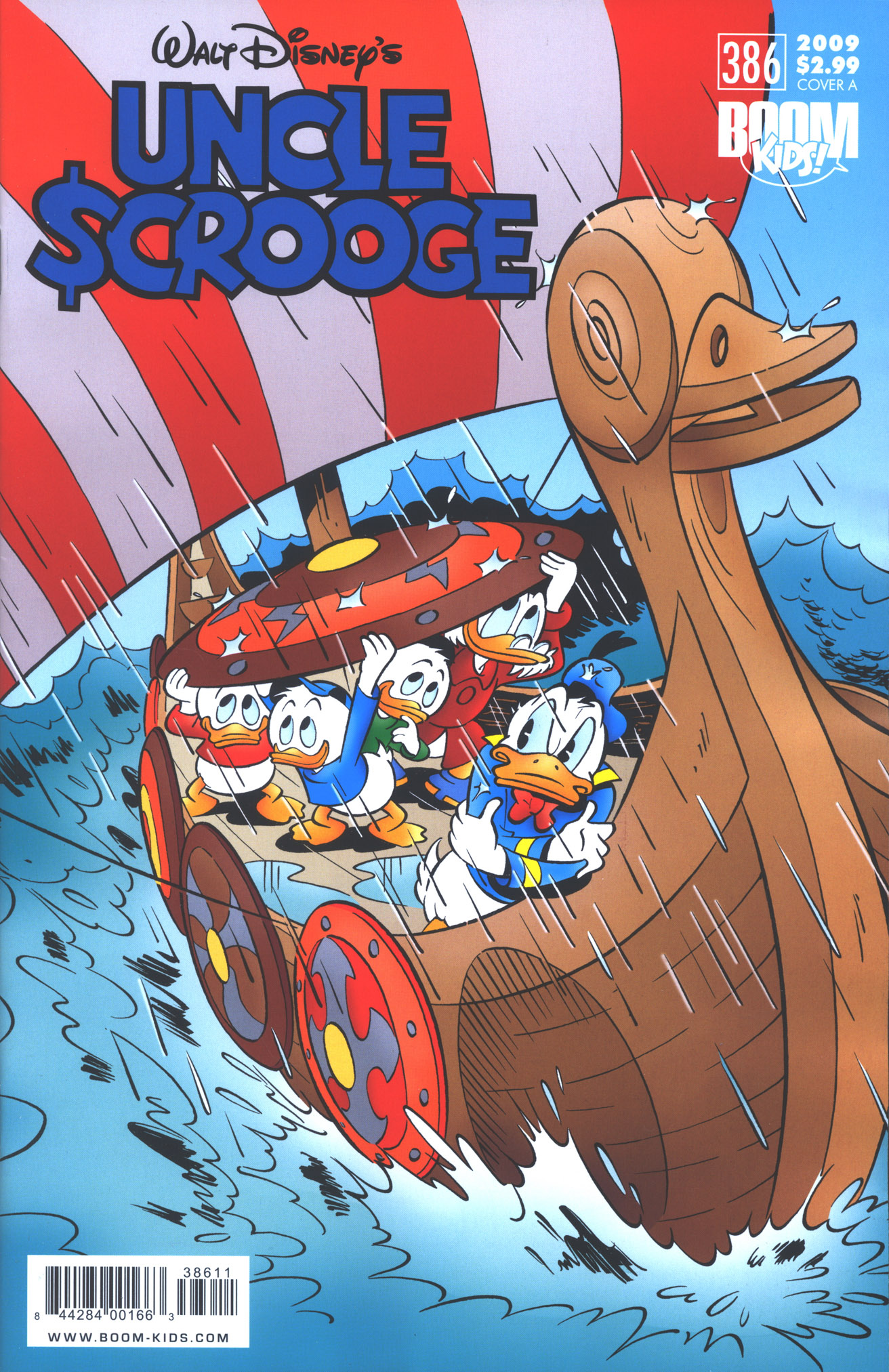 Read online Uncle Scrooge (1953) comic -  Issue #386 - 1