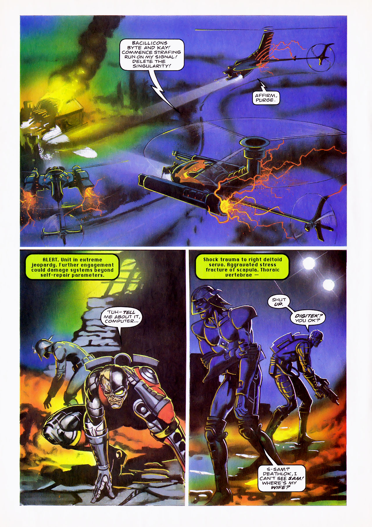 Read online Overkill comic -  Issue #15 - 18