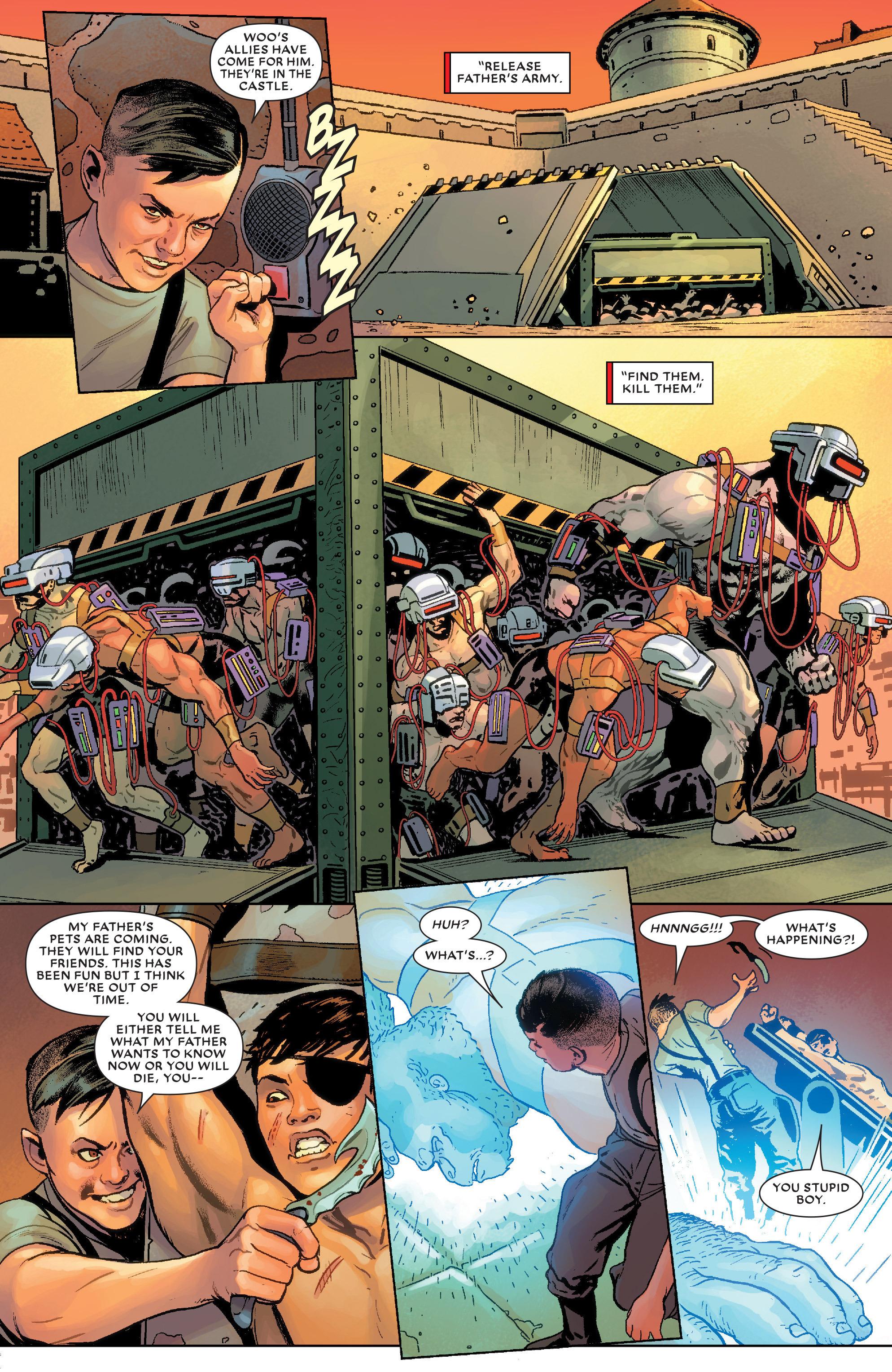 Read online Secret Wars Journal/Battleworld comic -  Issue # TPB - 110