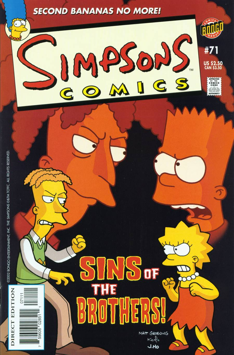 Read online Simpsons Comics comic -  Issue #71 - 1