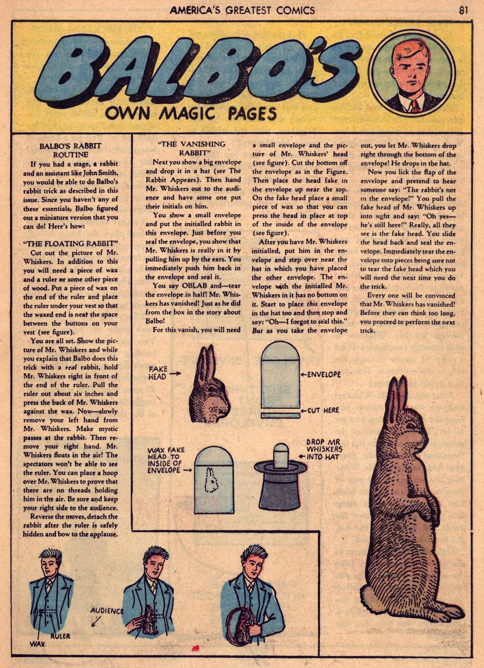 Read online America's Greatest Comics comic -  Issue #7 - 80