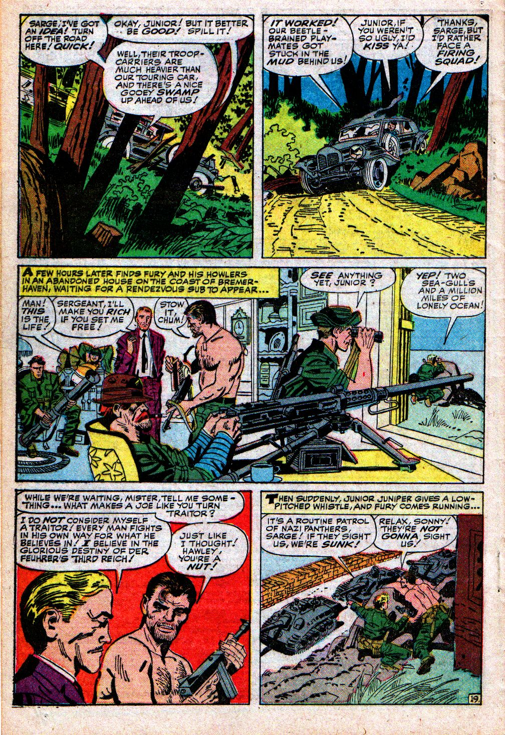 Read online Sgt. Fury comic -  Issue #4 - 28
