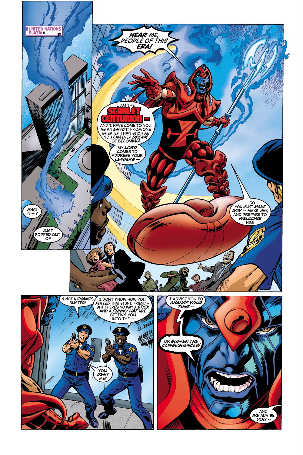 Read online Avengers (1998) comic -  Issue #41 - 12