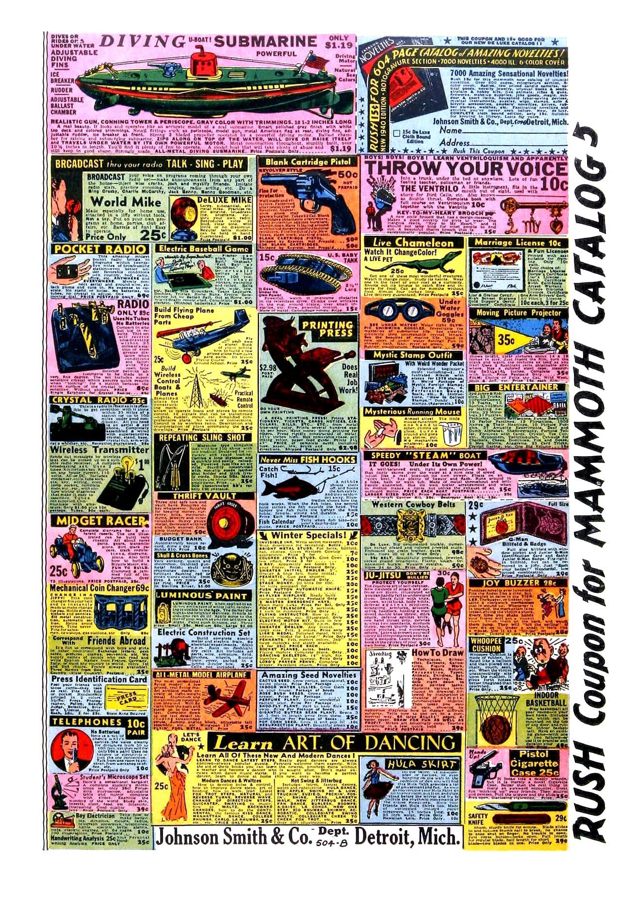 Read online Amazing Man Comics comic -  Issue #11 - 68