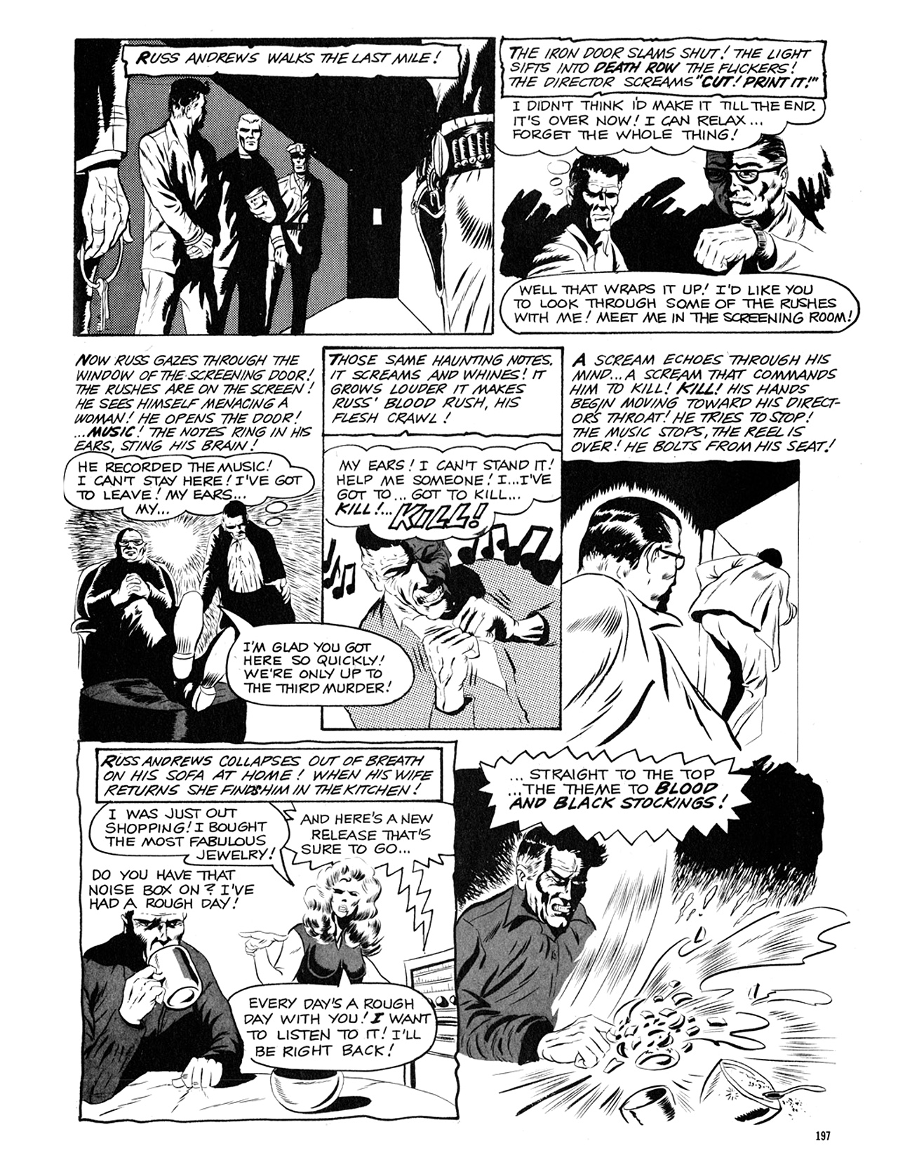 Read online Eerie Archives comic -  Issue # TPB 5 - 198