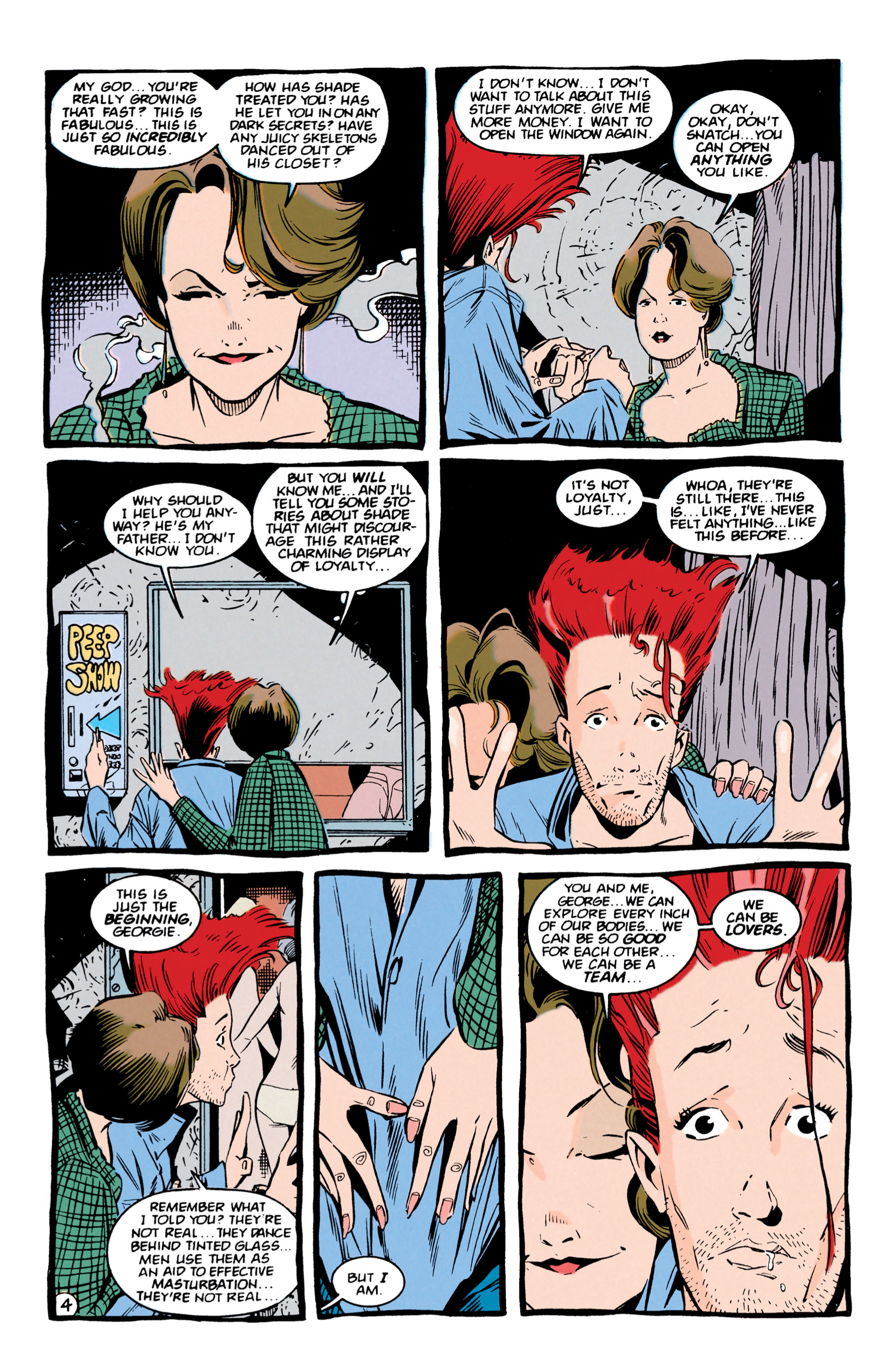 Read online Shade, the Changing Man comic -  Issue #56 - 5