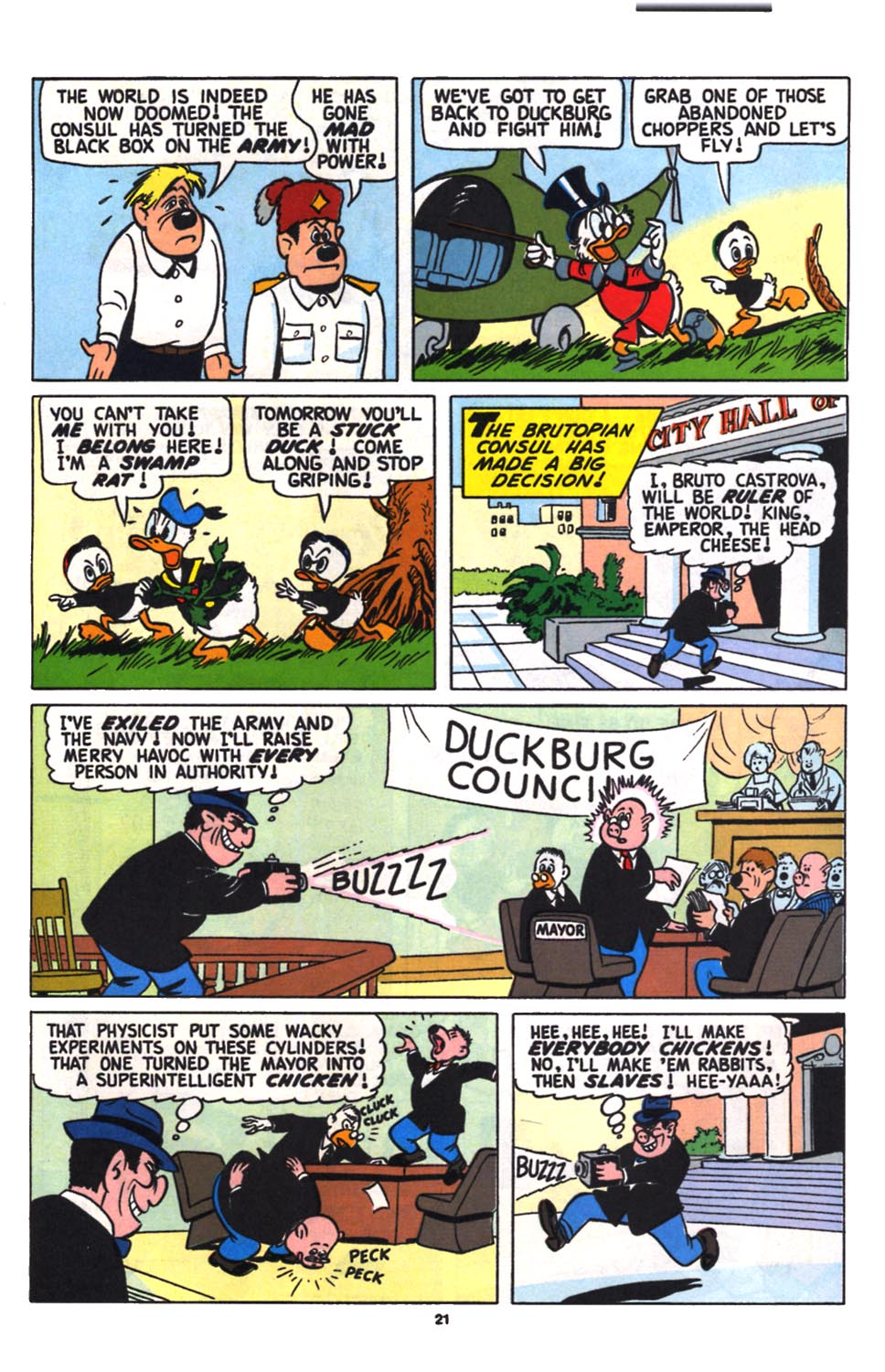 Read online Uncle Scrooge (1953) comic -  Issue #258 - 23