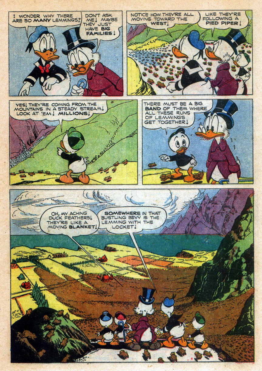 Read online Uncle Scrooge (1953) comic -  Issue #9 - 17