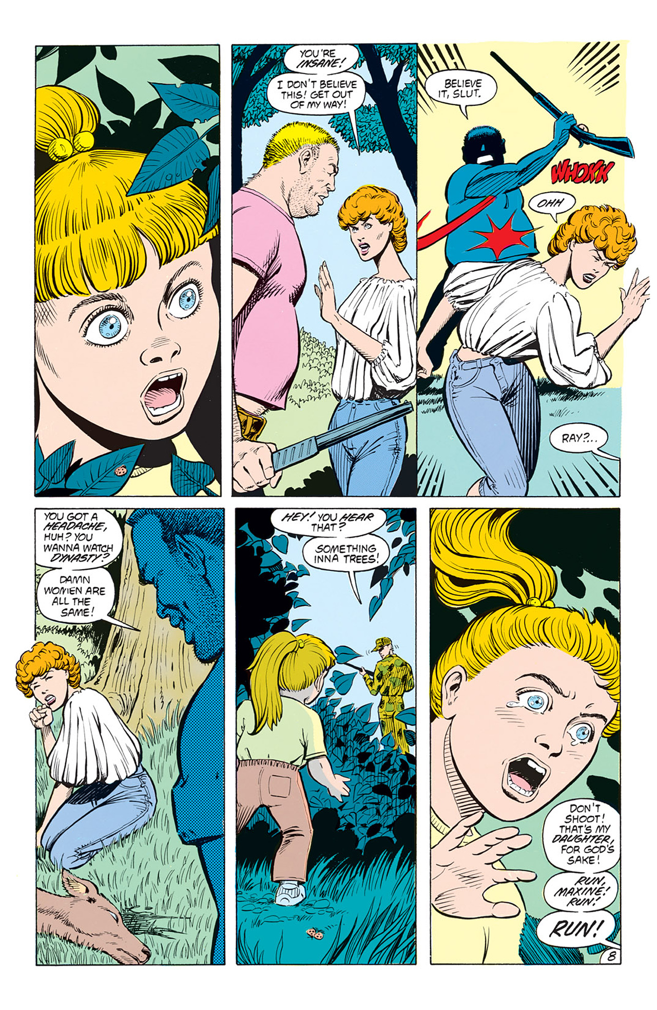 Read online Animal Man (1988) comic -  Issue #3 - 10