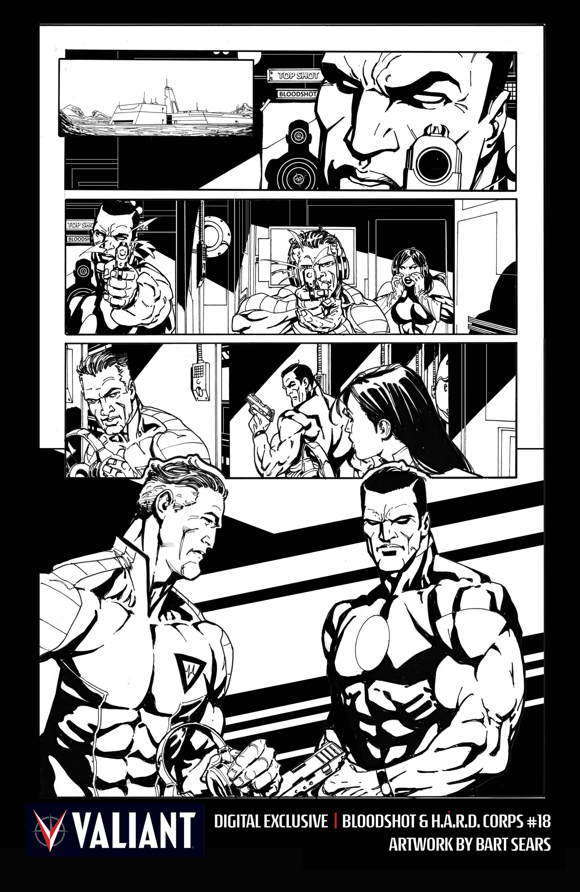 Read online Bloodshot and H.A.R.D.Corps comic -  Issue #18 - 30