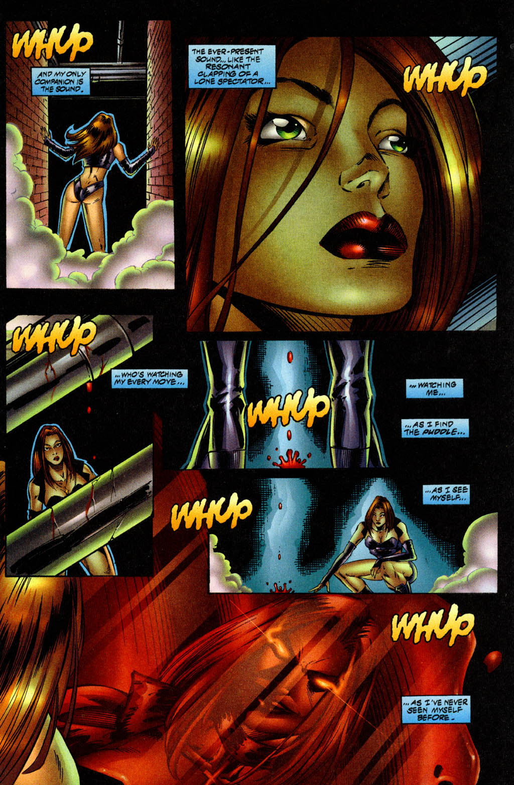 Read online Avengelyne (1996) comic -  Issue #9 - 4
