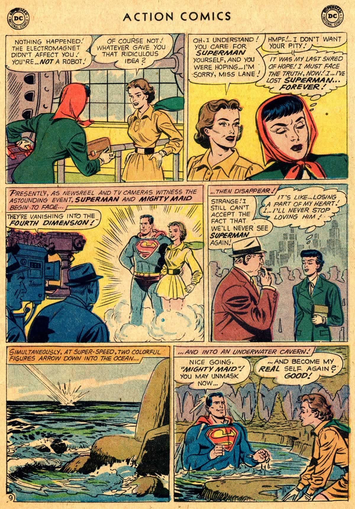 Action Comics (1938) 260 Page 9