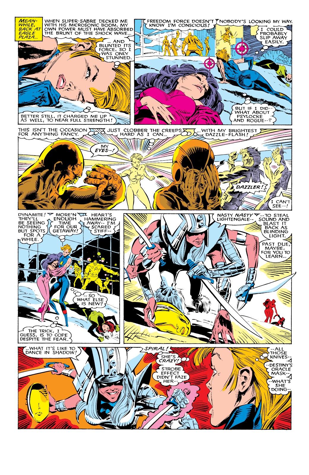 Read online X-Men Milestones: Fall of the Mutants comic -  Issue # TPB (Part 1) - 32