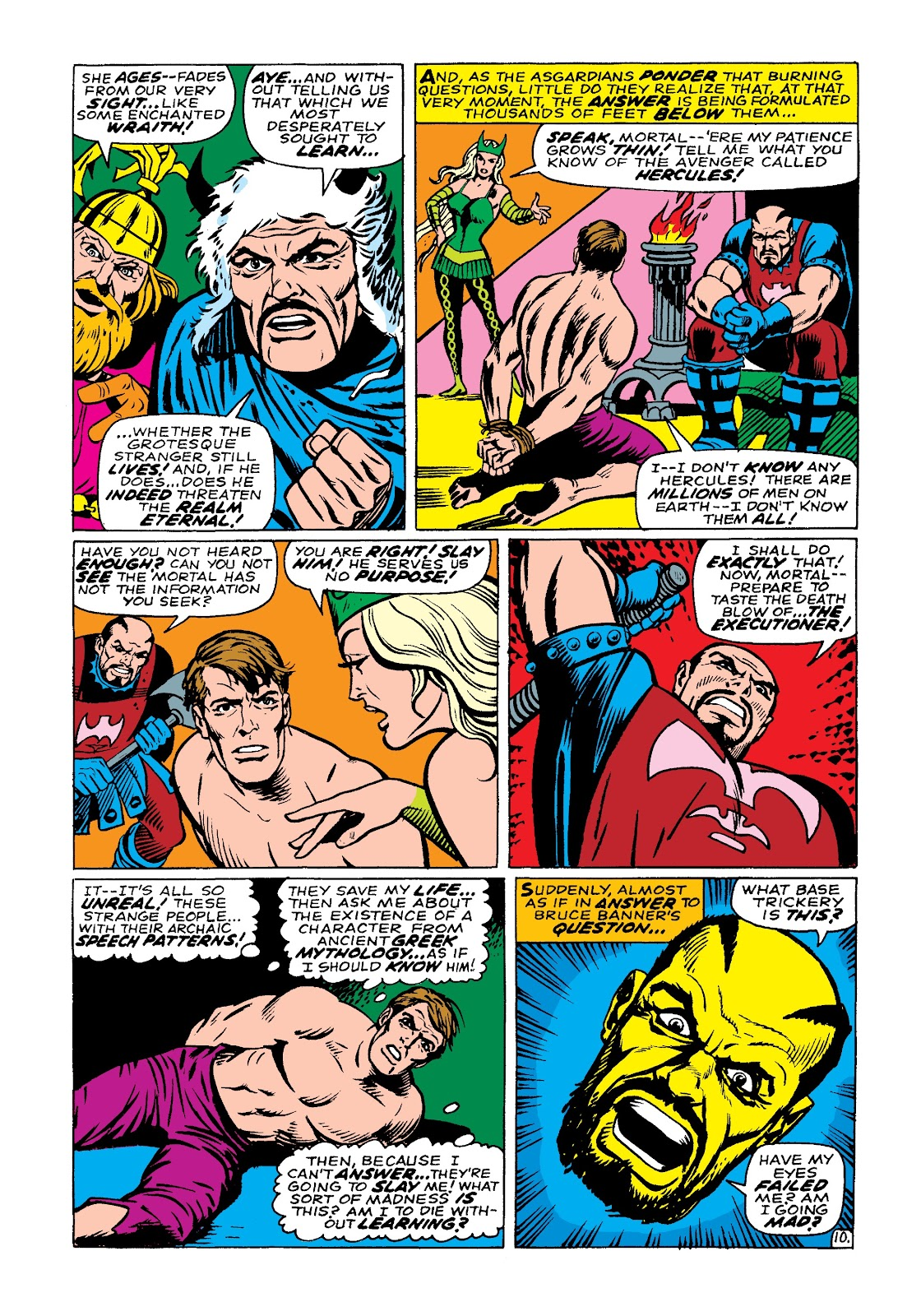 Read online Marvel Masterworks: The Incredible Hulk comic -  Issue # TPB 3 (Part 3) - 73