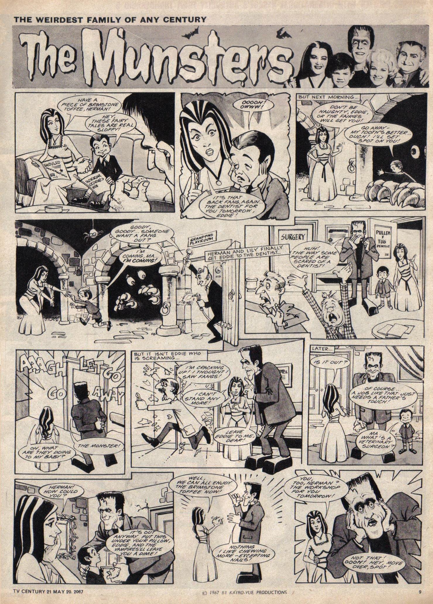 Read online TV Century 21 (TV 21) comic -  Issue #122 - 9