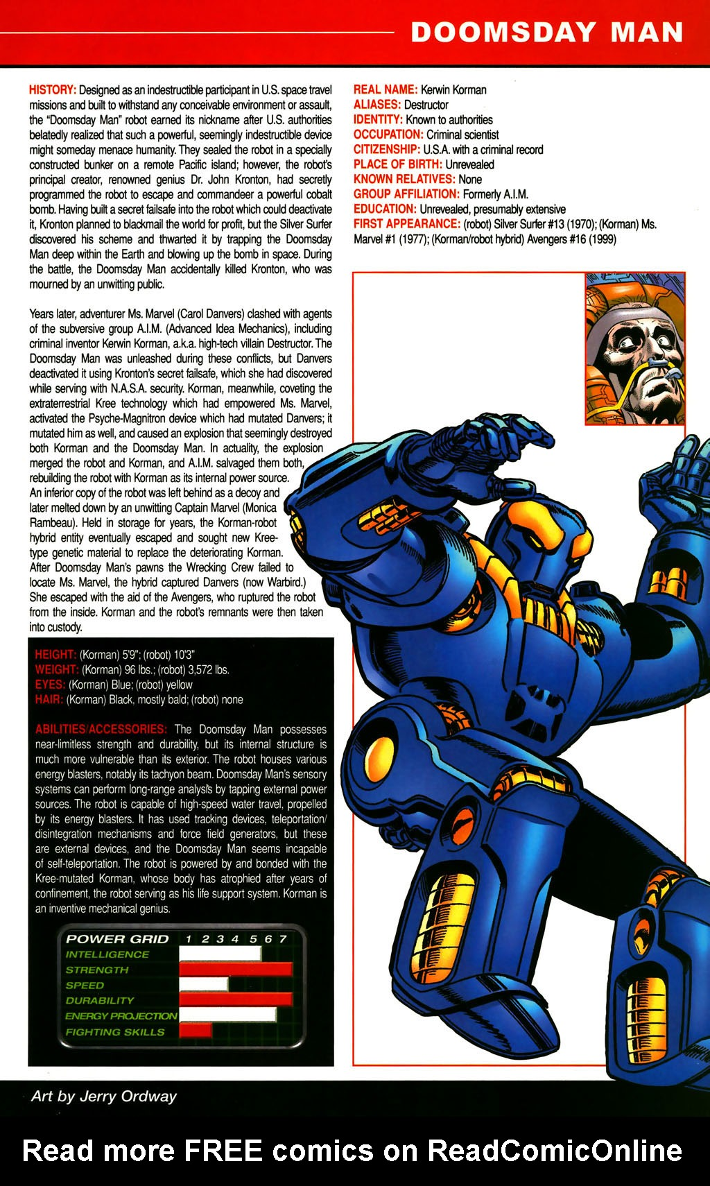 Read online All-New Official Handbook of the Marvel Universe A to Z comic -  Issue #3 - 59