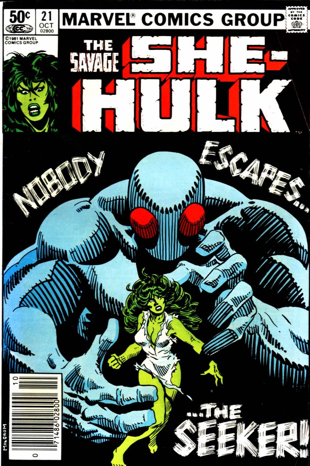 The Savage She-Hulk 21 Page 1