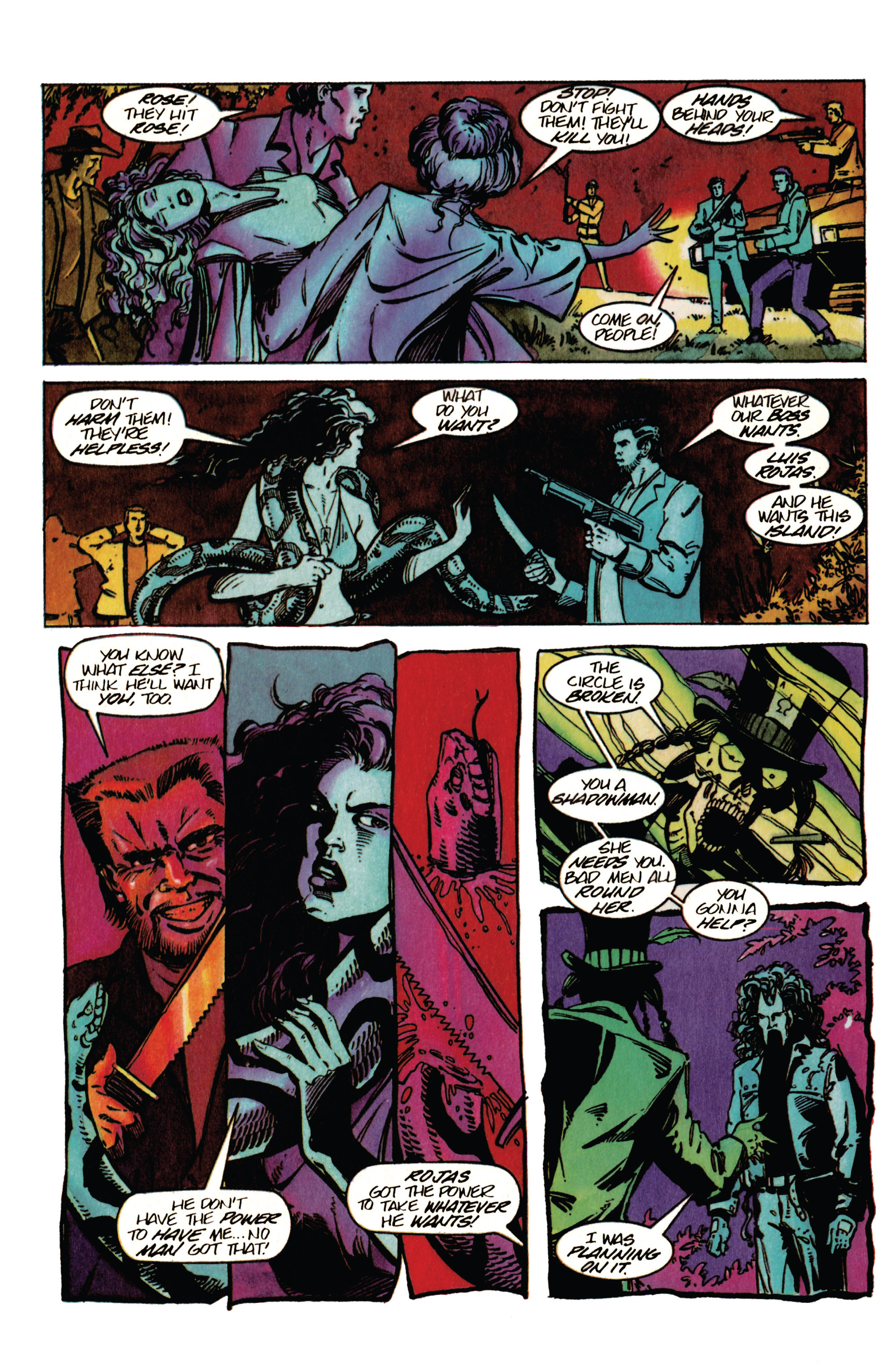 Read online Shadowman (1992) comic -  Issue #33 - 19