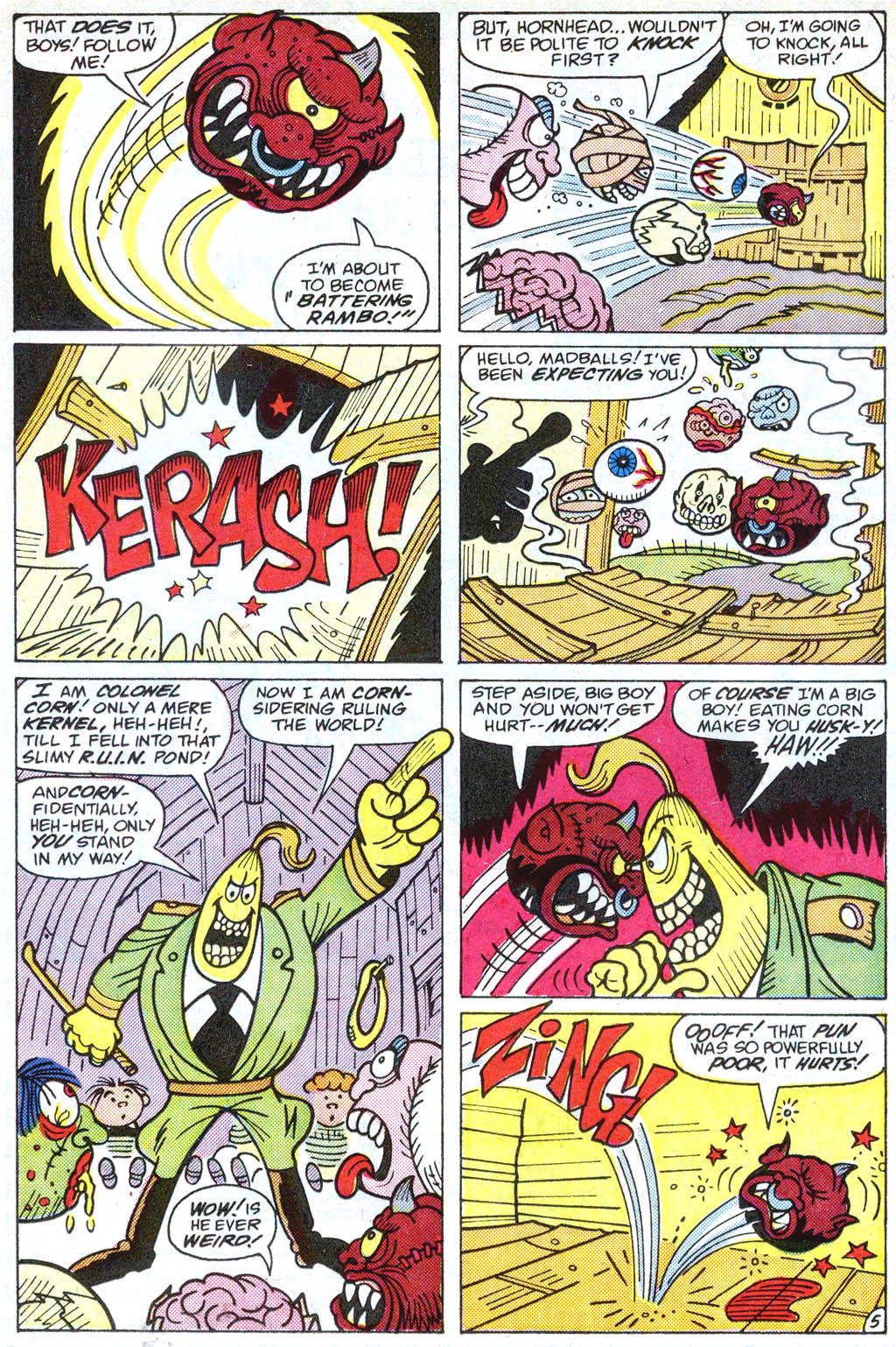 Madballs issue 1 - Page 17