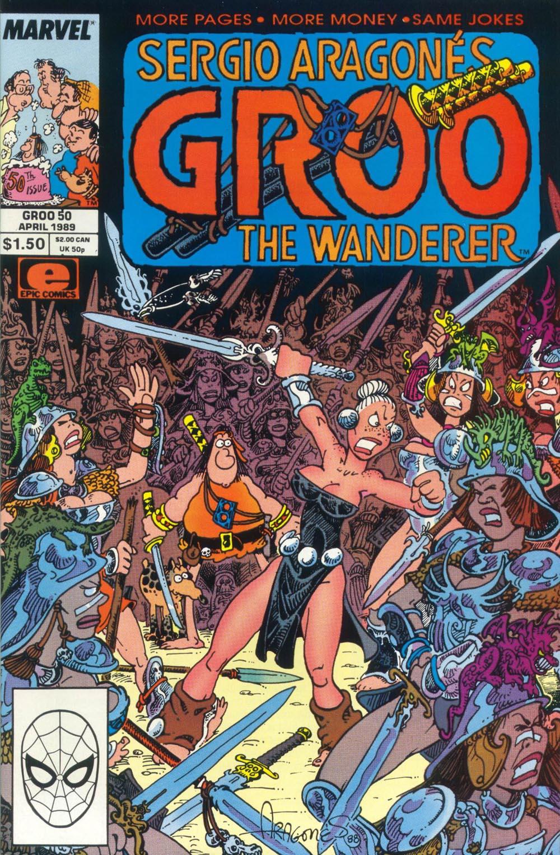 Read online Sergio Aragonés Groo the Wanderer comic -  Issue #50 - 1