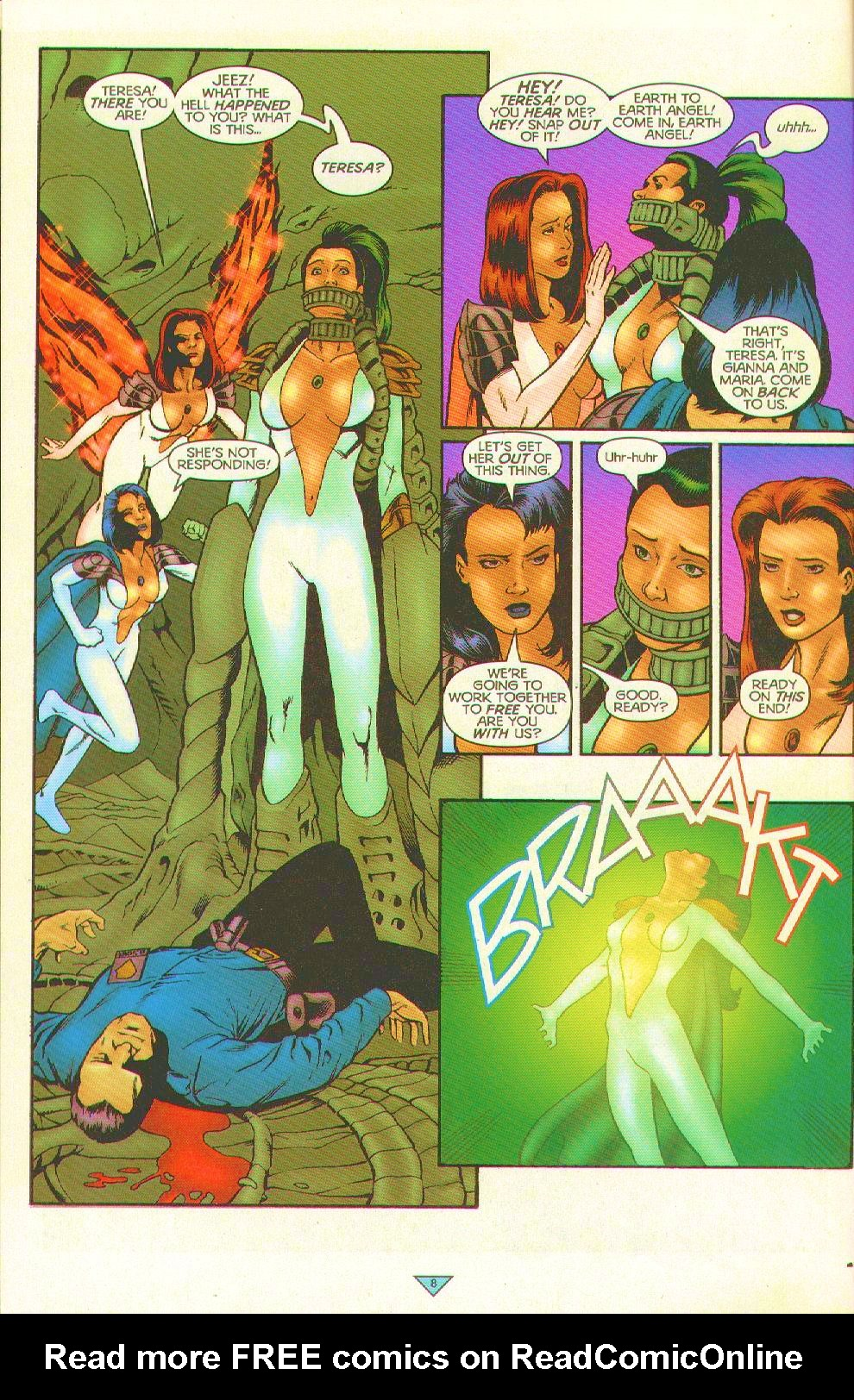 Read online Trinity Angels comic -  Issue #12 - 8