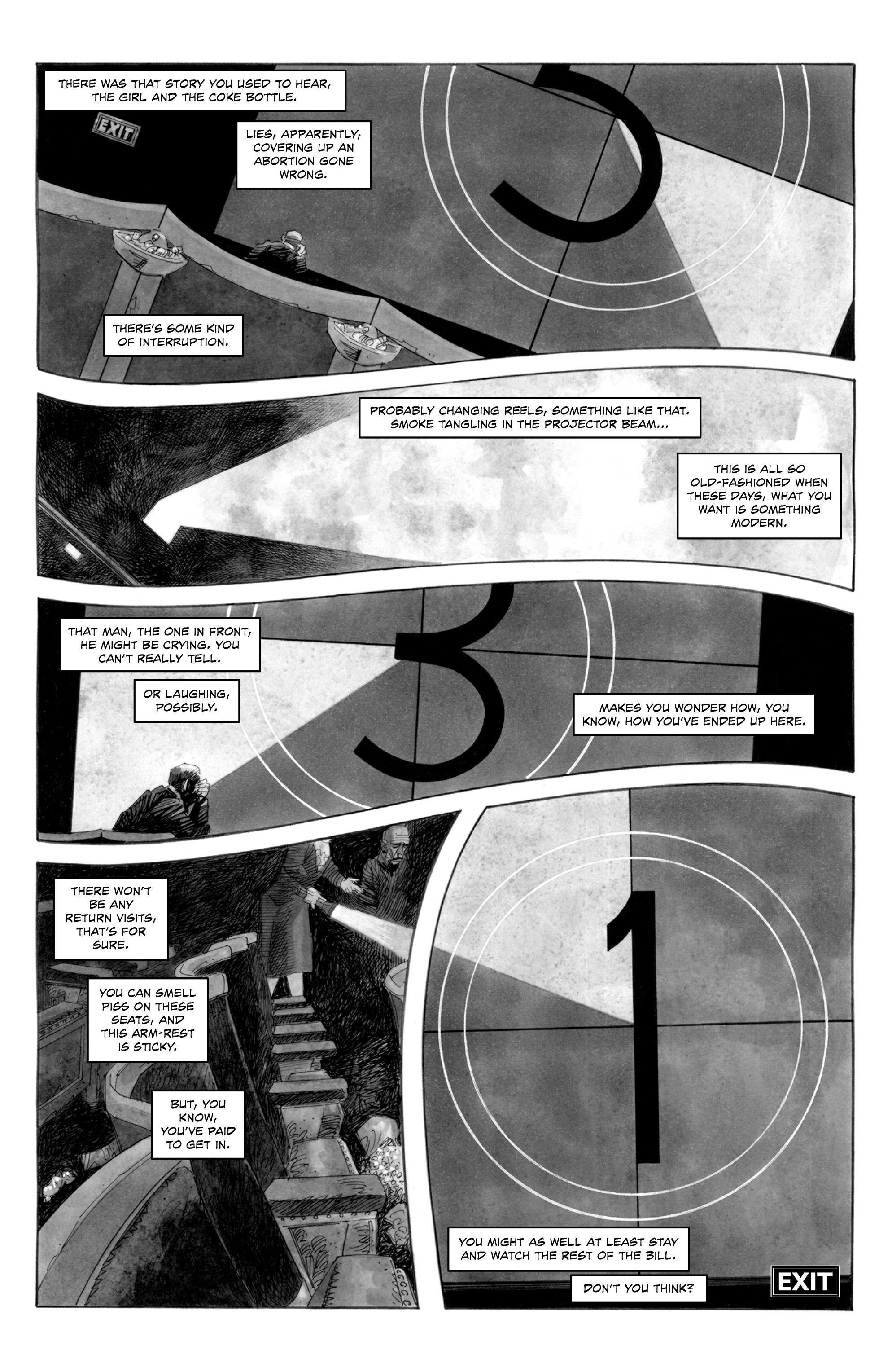 Read online Alan Moore's Cinema Purgatorio comic -  Issue #1 - 12