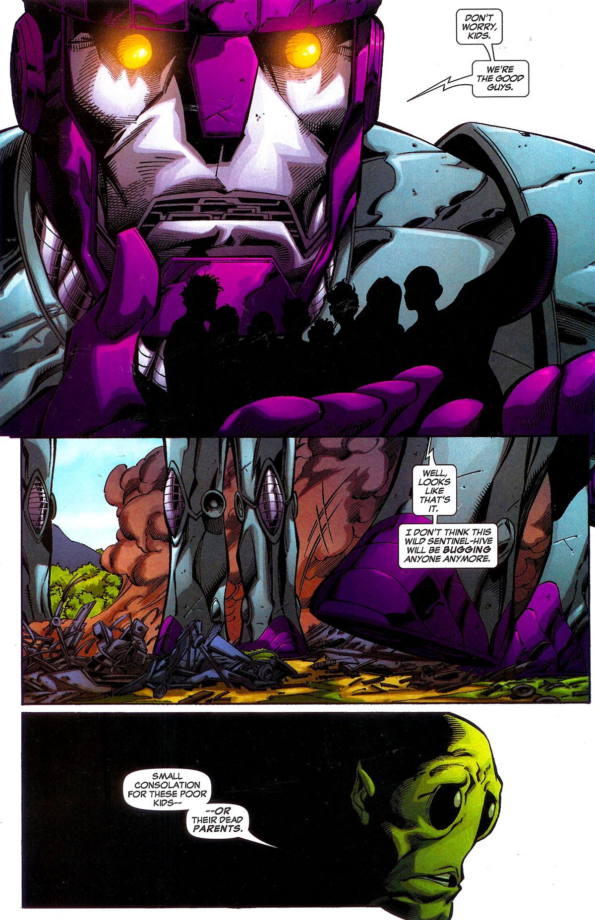 Read online Sentinel Squad O*N*E comic -  Issue #5 - 15