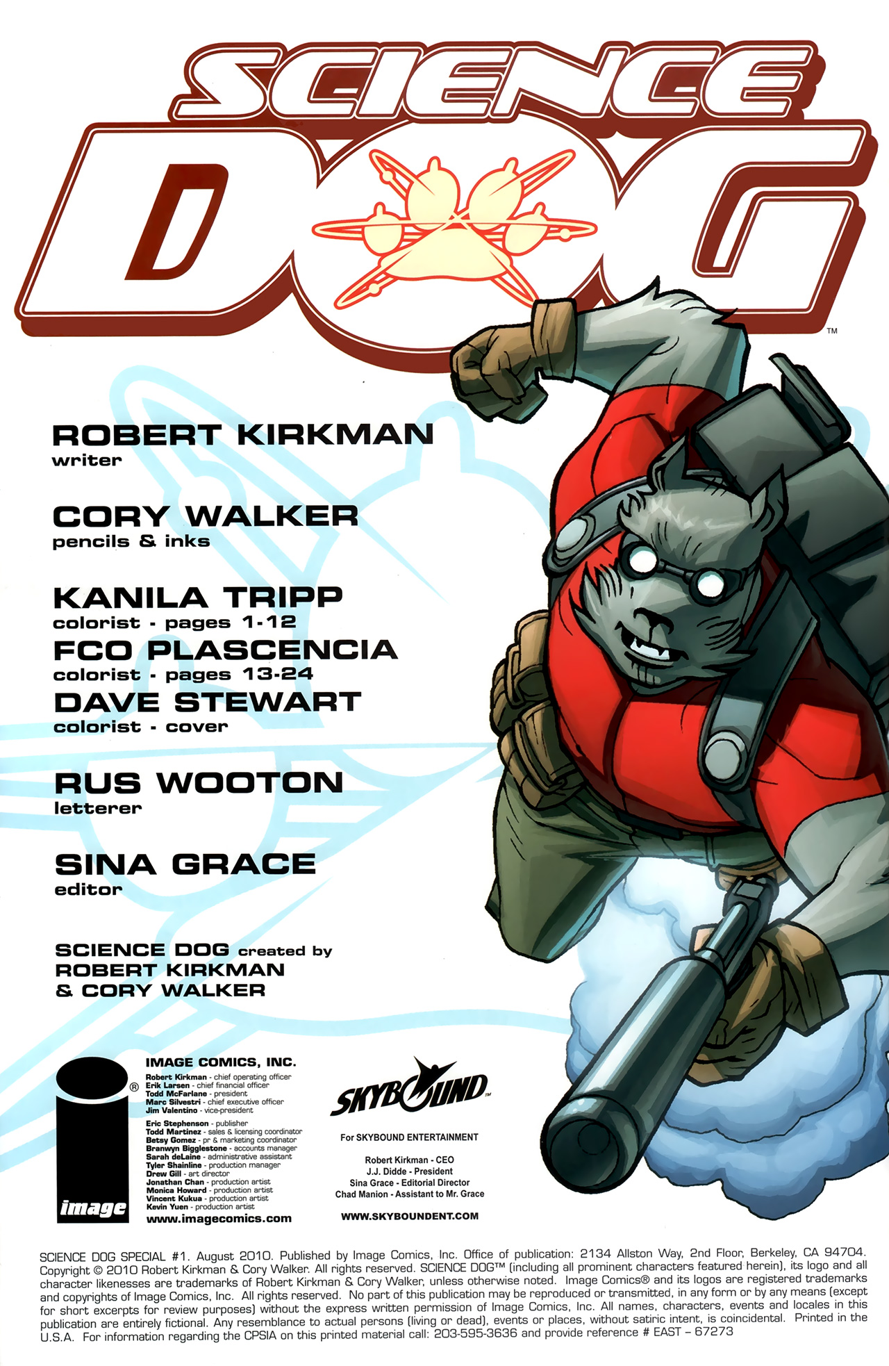 Read online Science Dog Special comic -  Issue #1 - 2