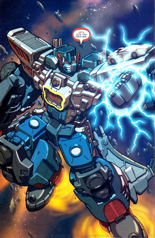 Read online Transformers Armada comic -  Issue #17 - 22