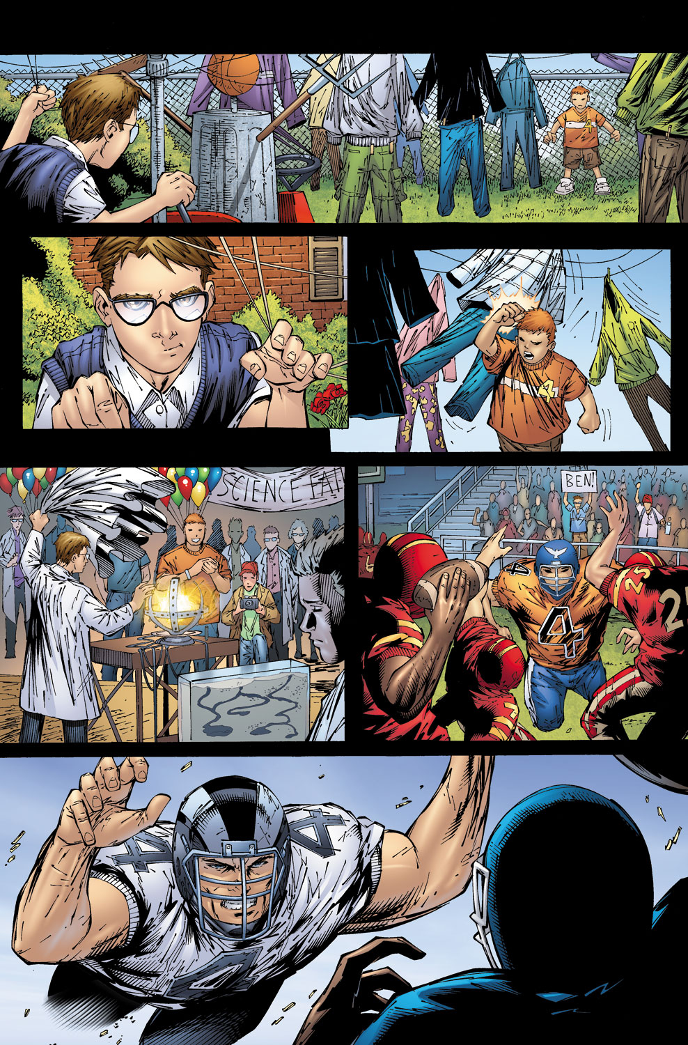 Read online Ultimate Fantastic Four (2004) comic -  Issue #58 - 18